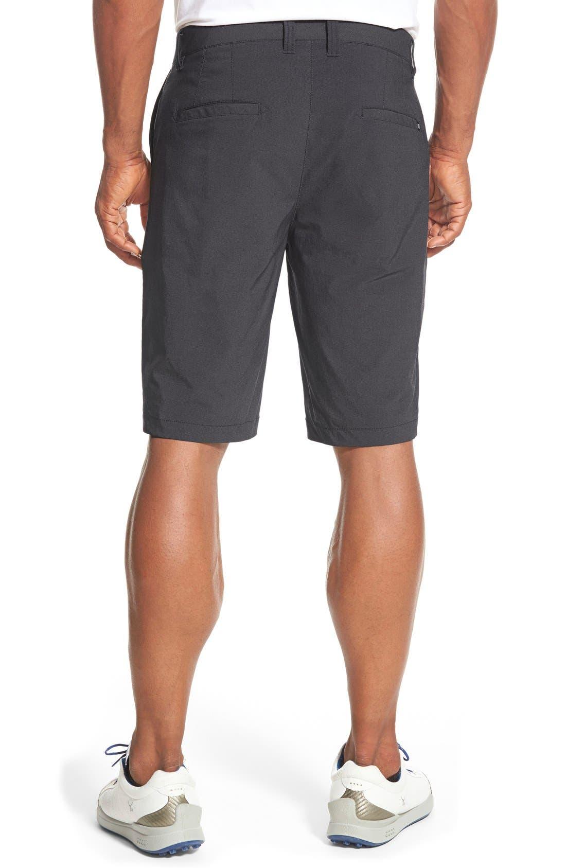 'Hefner' Stretch Golf Shorts,                             Alternate thumbnail 2, color,                             BLACK