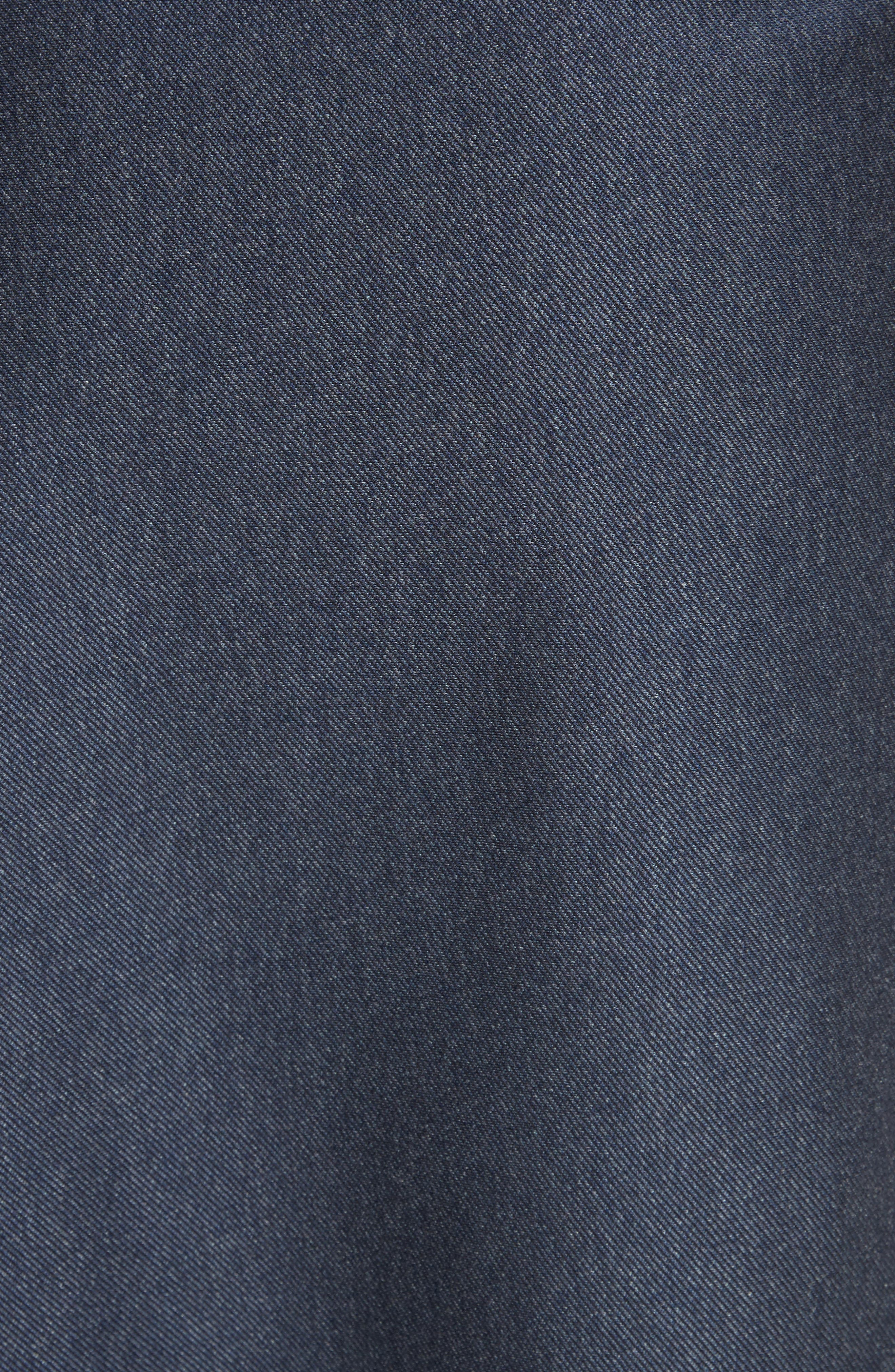 Origami Asymmetrical Twill Skirt,                             Alternate thumbnail 5, color,                             402