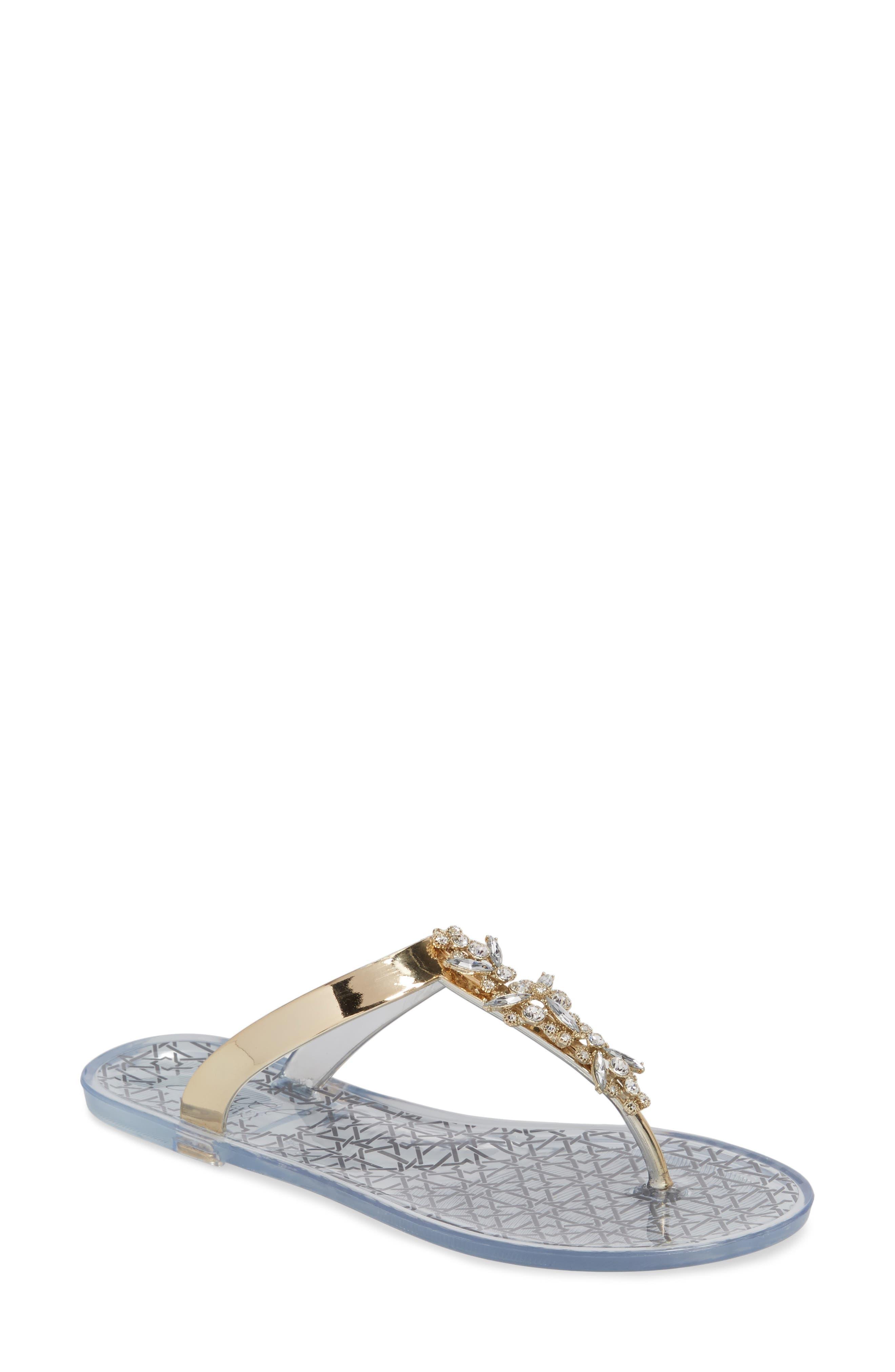 Gracia Embellished Sandal,                             Main thumbnail 4, color,