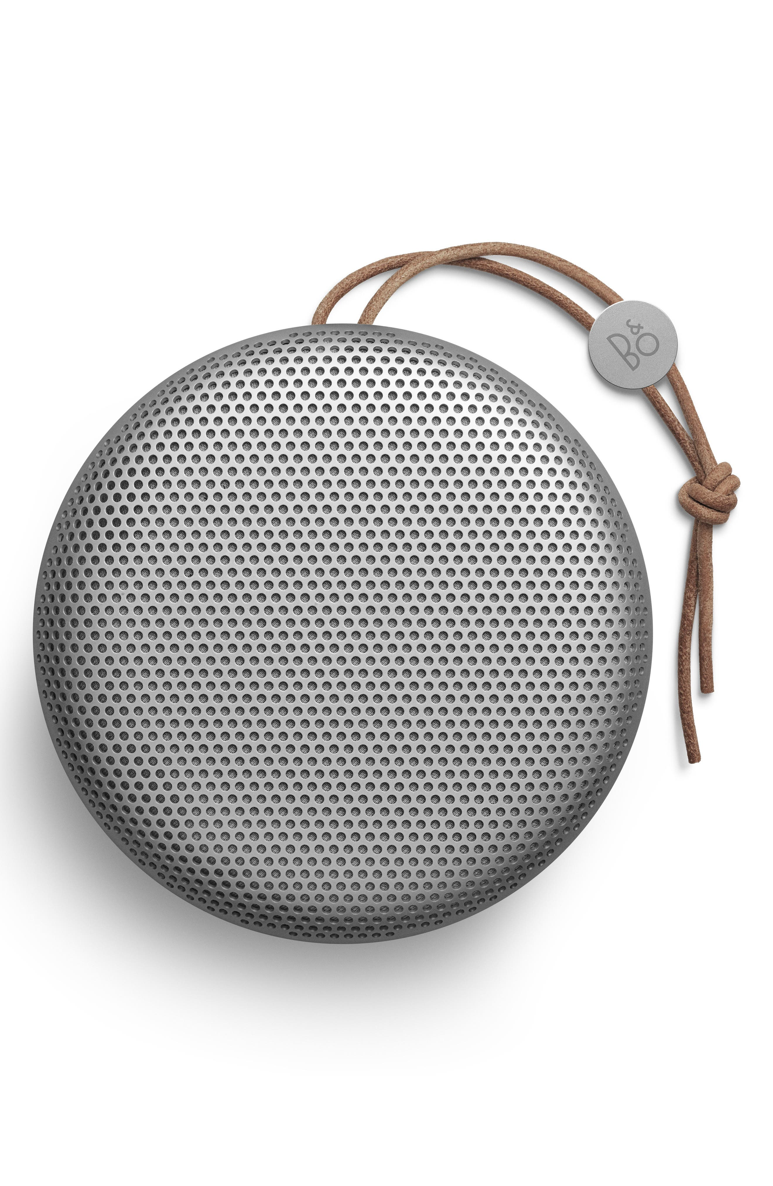 A1 Portable Bluetooth Speaker, Main, color, NATURAL