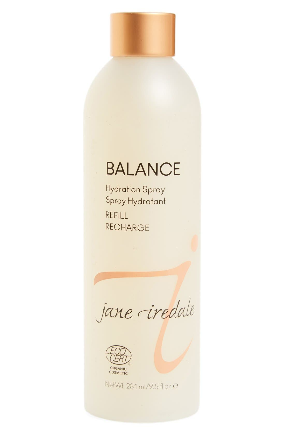 Balance Hydration Spray Refill,                         Main,                         color, BROWN