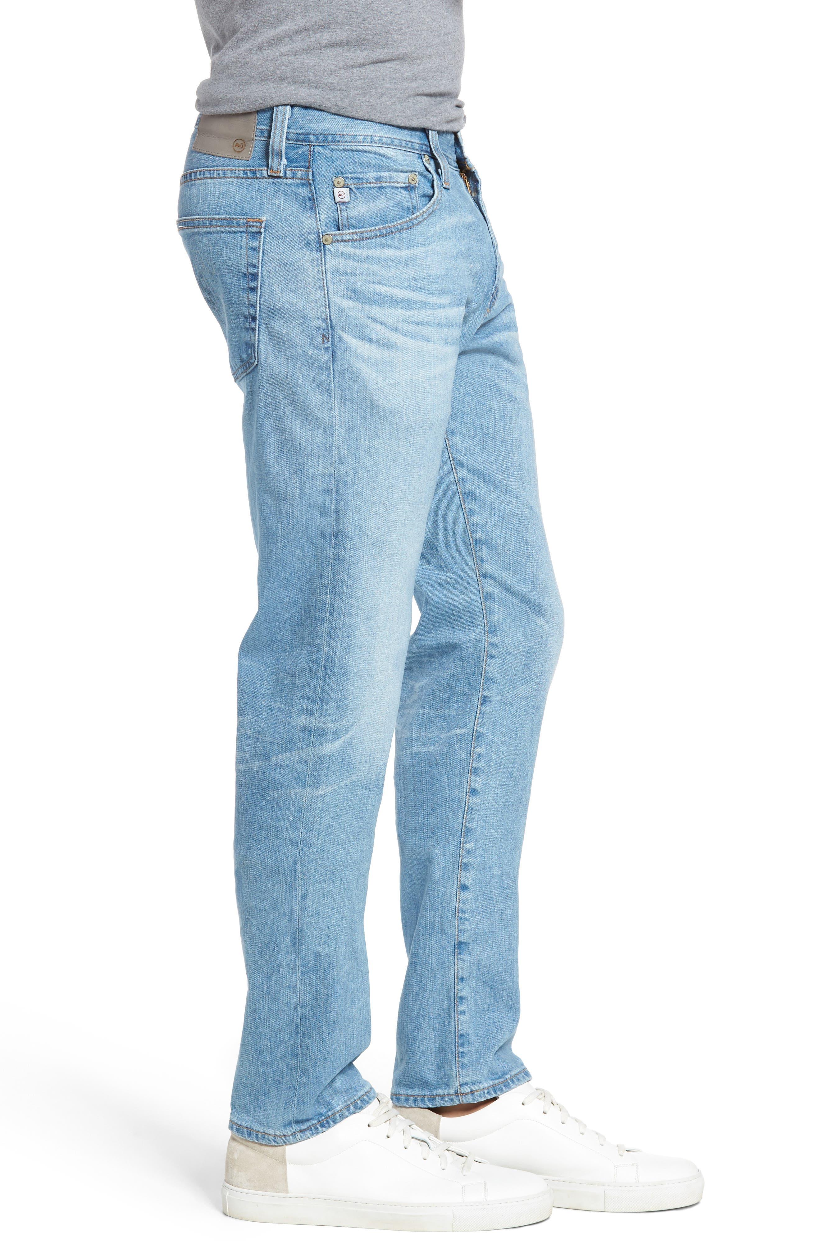 Tellis Slim Fit Jeans,                             Alternate thumbnail 3, color,                             412