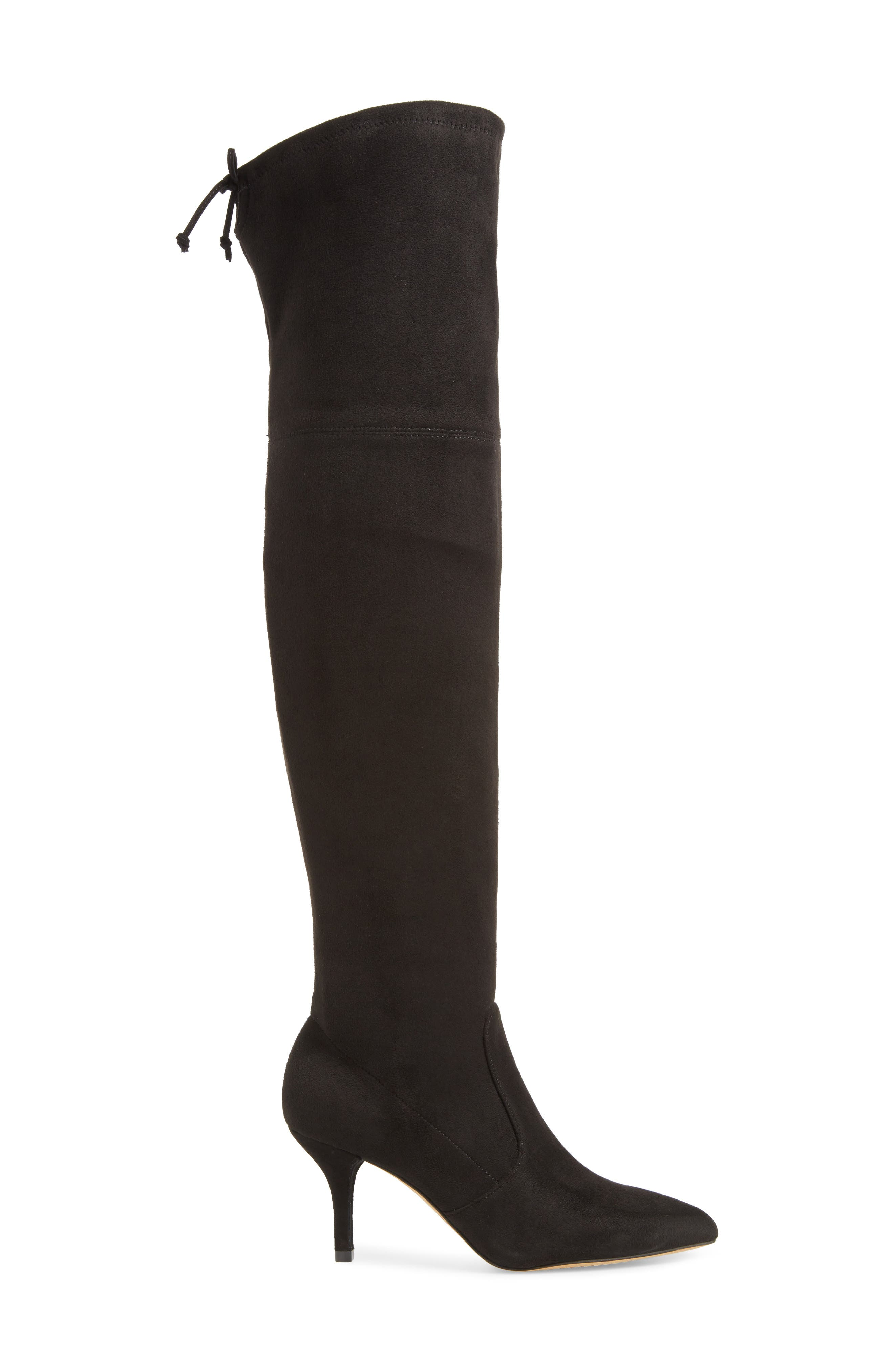 VINCE CAMUTO,                             Ashlina Over the Knee Boot,                             Alternate thumbnail 3, color,                             001