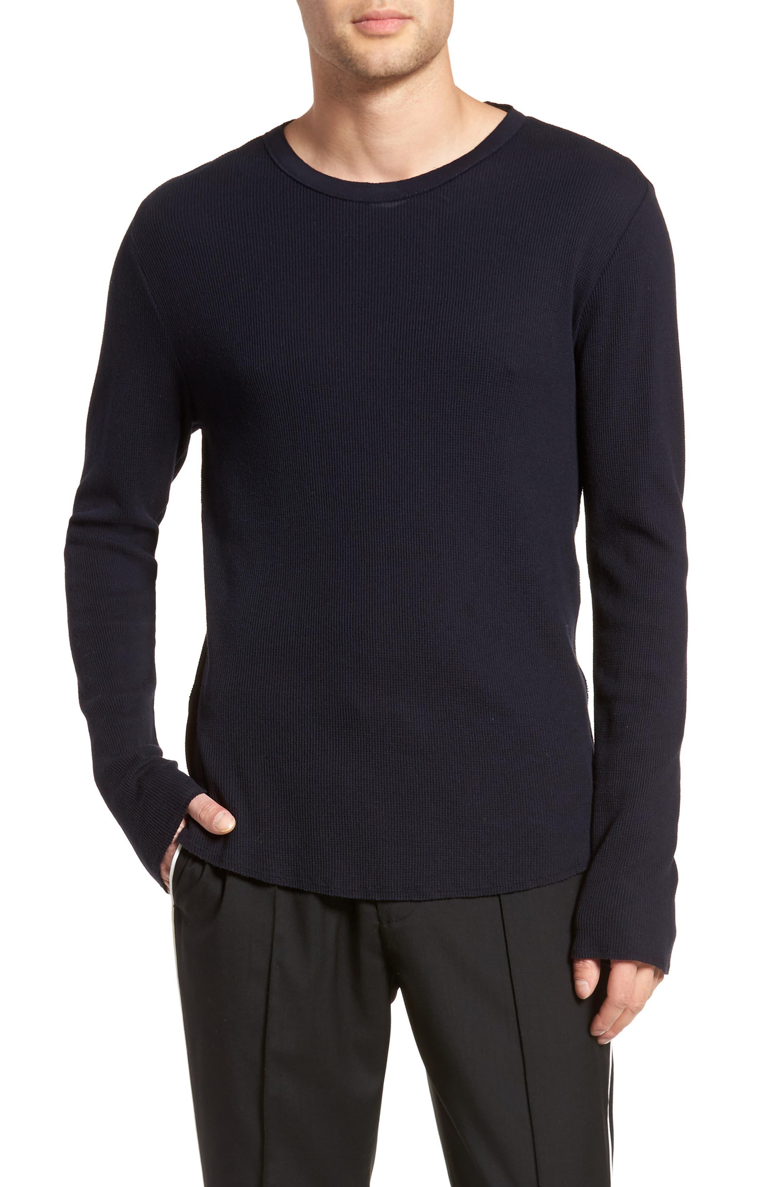 Thermal Knit Long Sleeve T-Shirt,                             Main thumbnail 3, color,