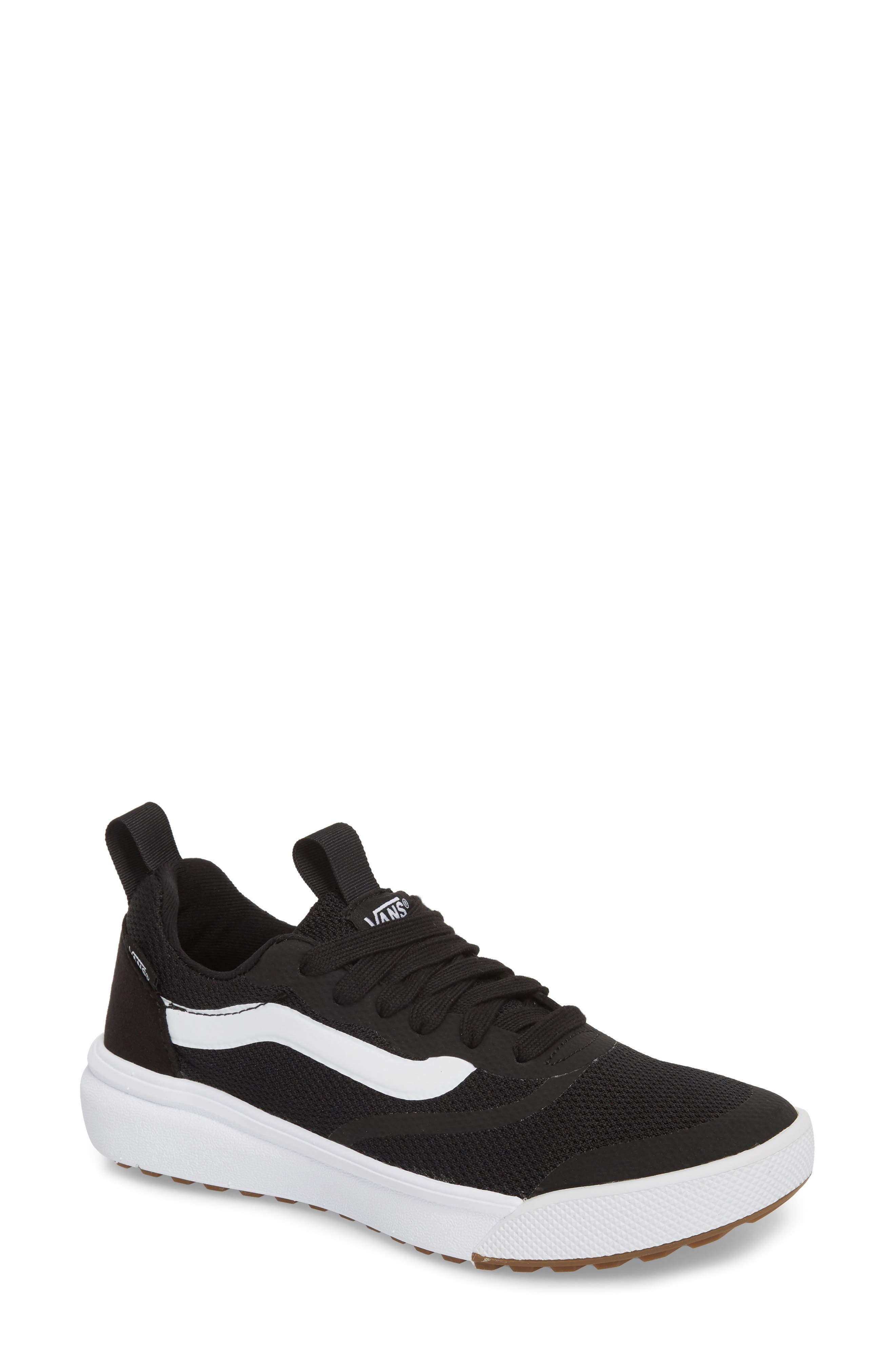 UltraRange Rapidweld Sneaker,                         Main,                         color, BLACK/ BLACK/ WHITE