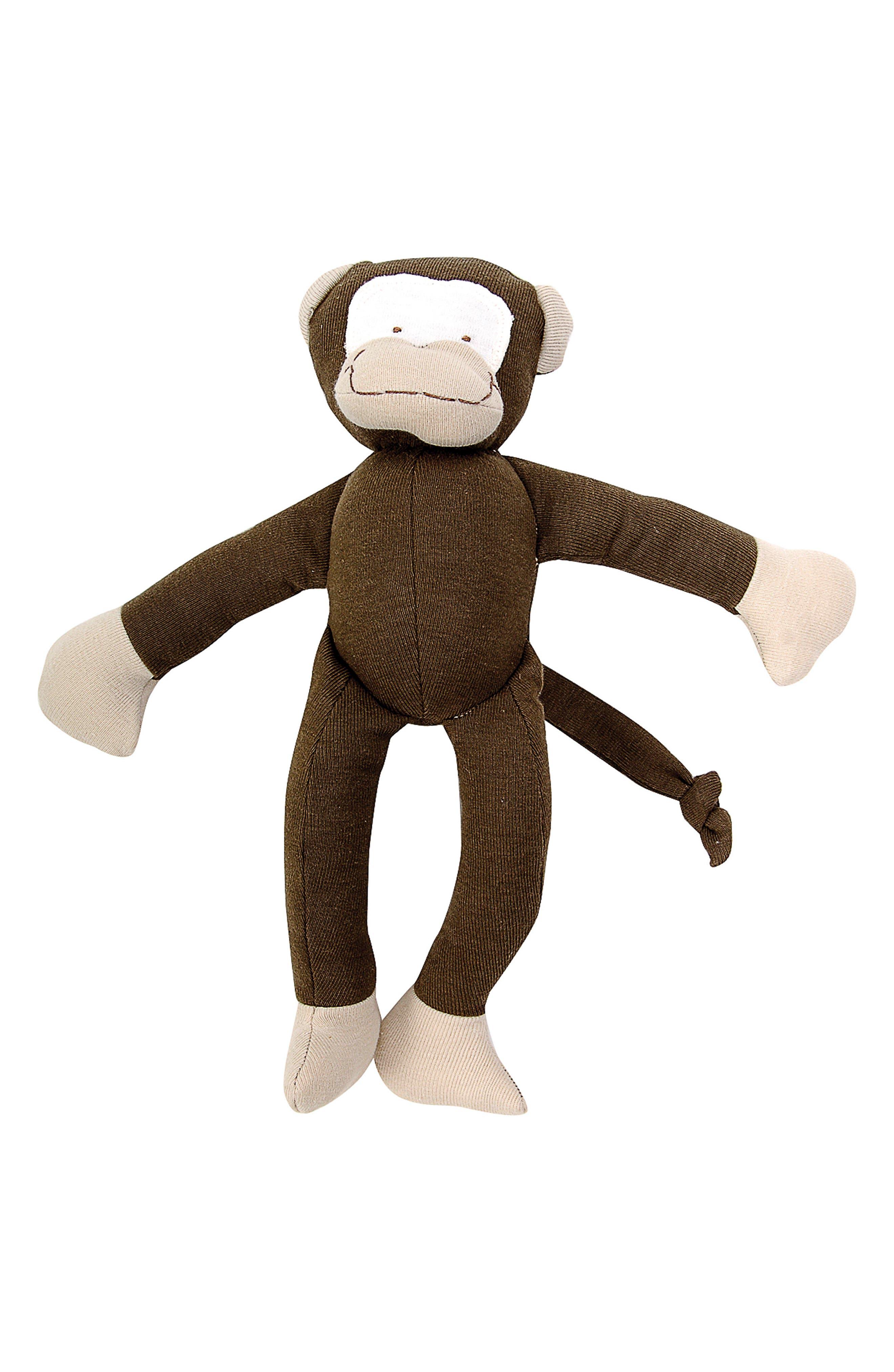 3-Piece Monkey Bib, Stuffed Animal and Stuffed Banana Set,                             Alternate thumbnail 2, color,                             200