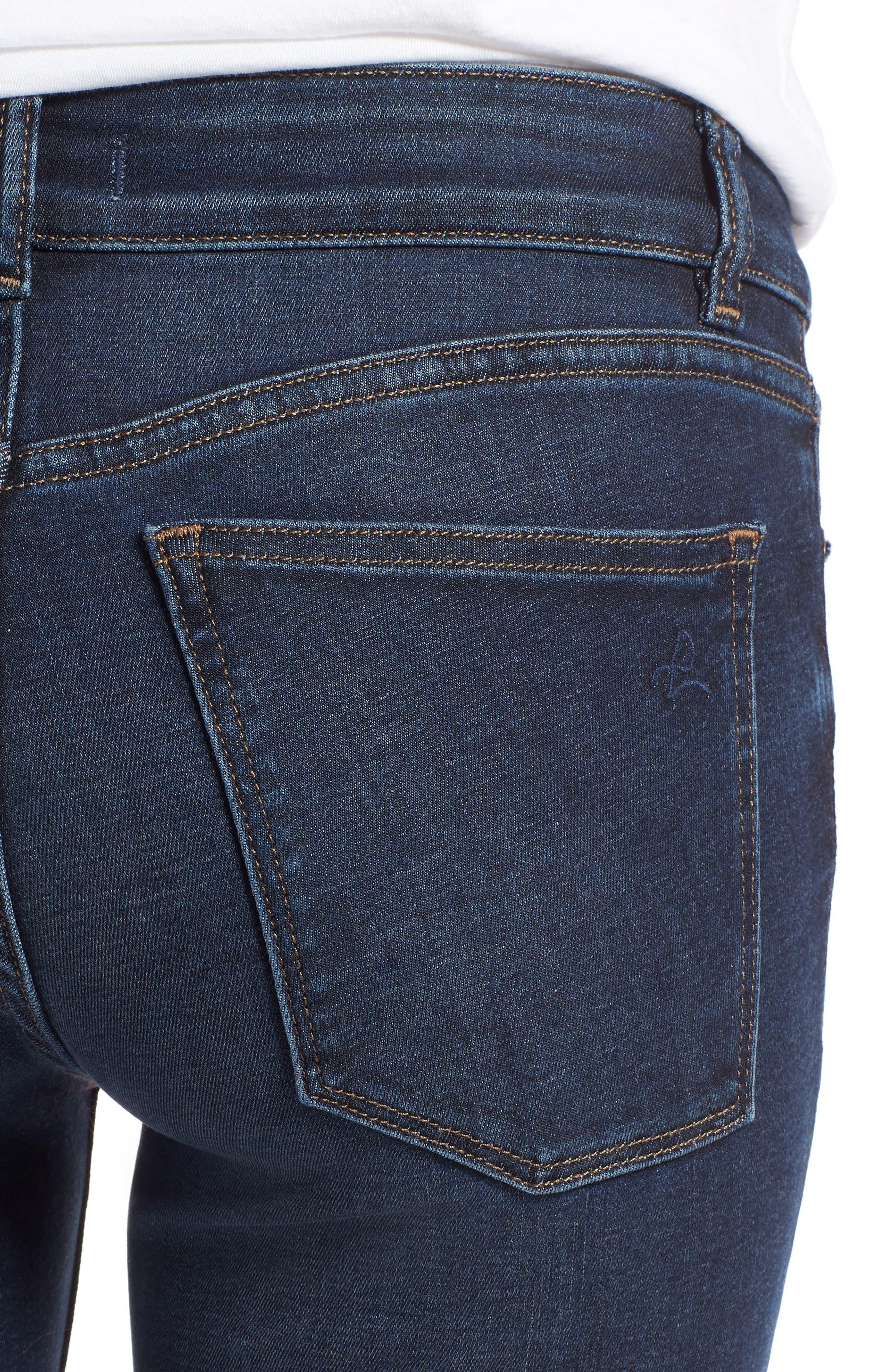 Florence Instasculpt Ankle Skinny Jeans,                             Alternate thumbnail 4, color,                             425