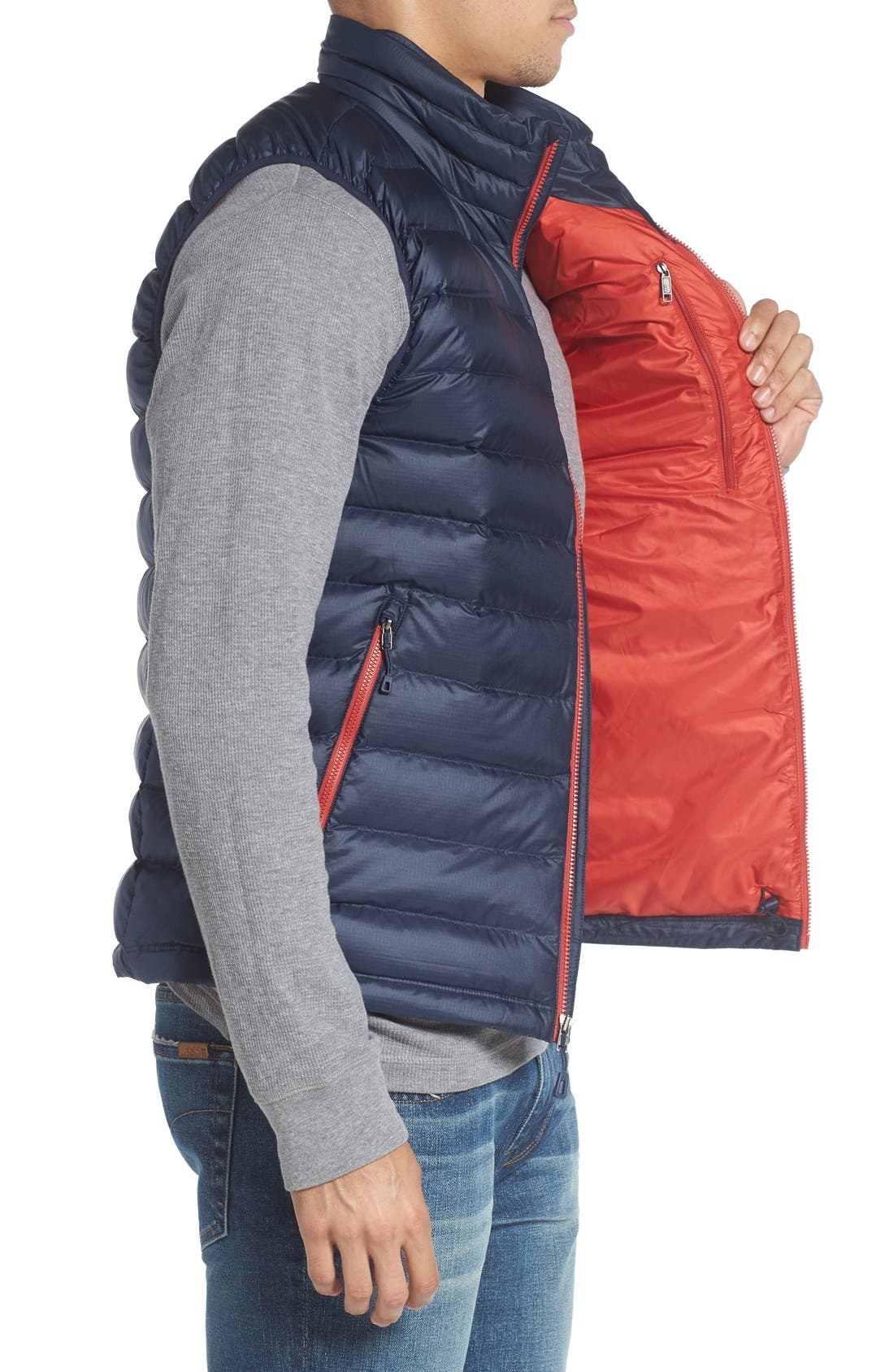 Windproof & Water Resistant 800 Fill Power Down Quilted Vest,                             Alternate thumbnail 36, color,