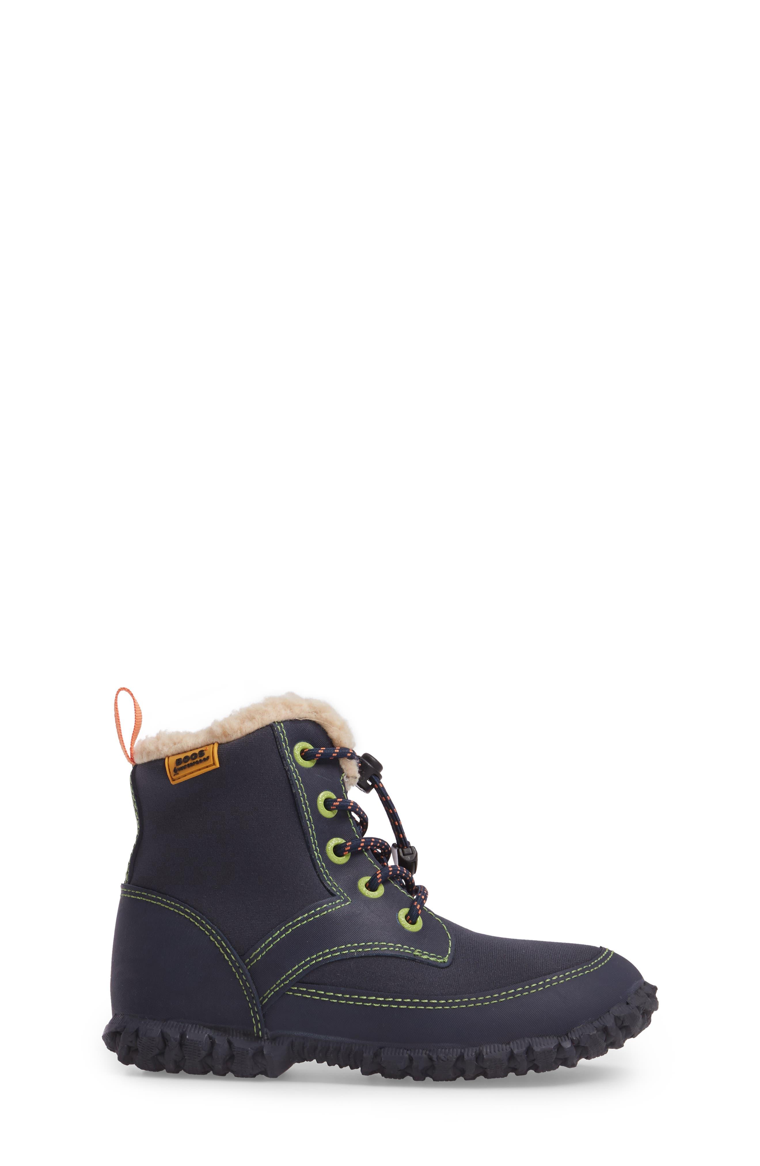 Skyler Faux Fur Insulated Waterproof Boot,                             Alternate thumbnail 8, color,