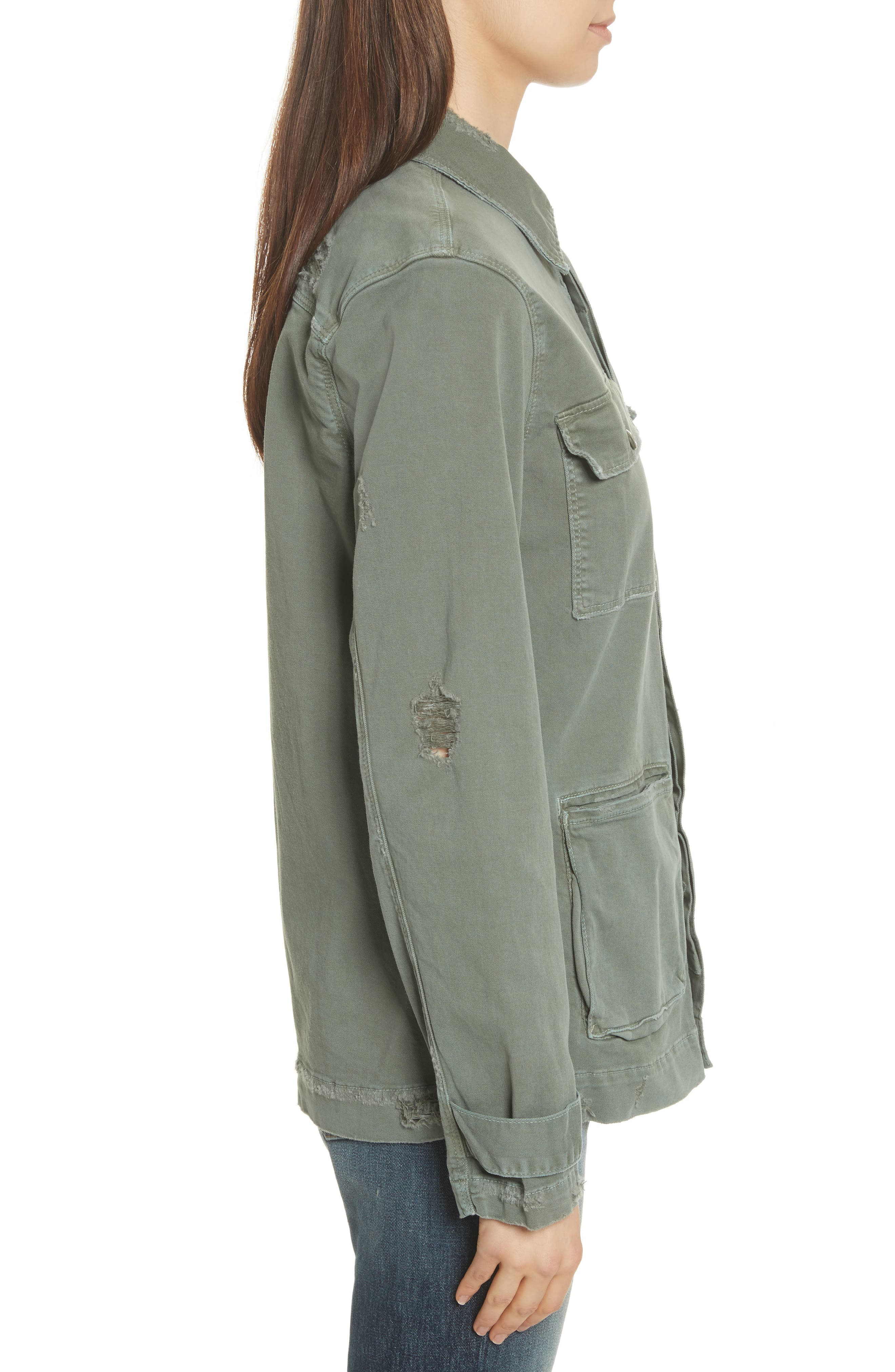 Slouchy Utility Jacket,                             Alternate thumbnail 3, color,                             301