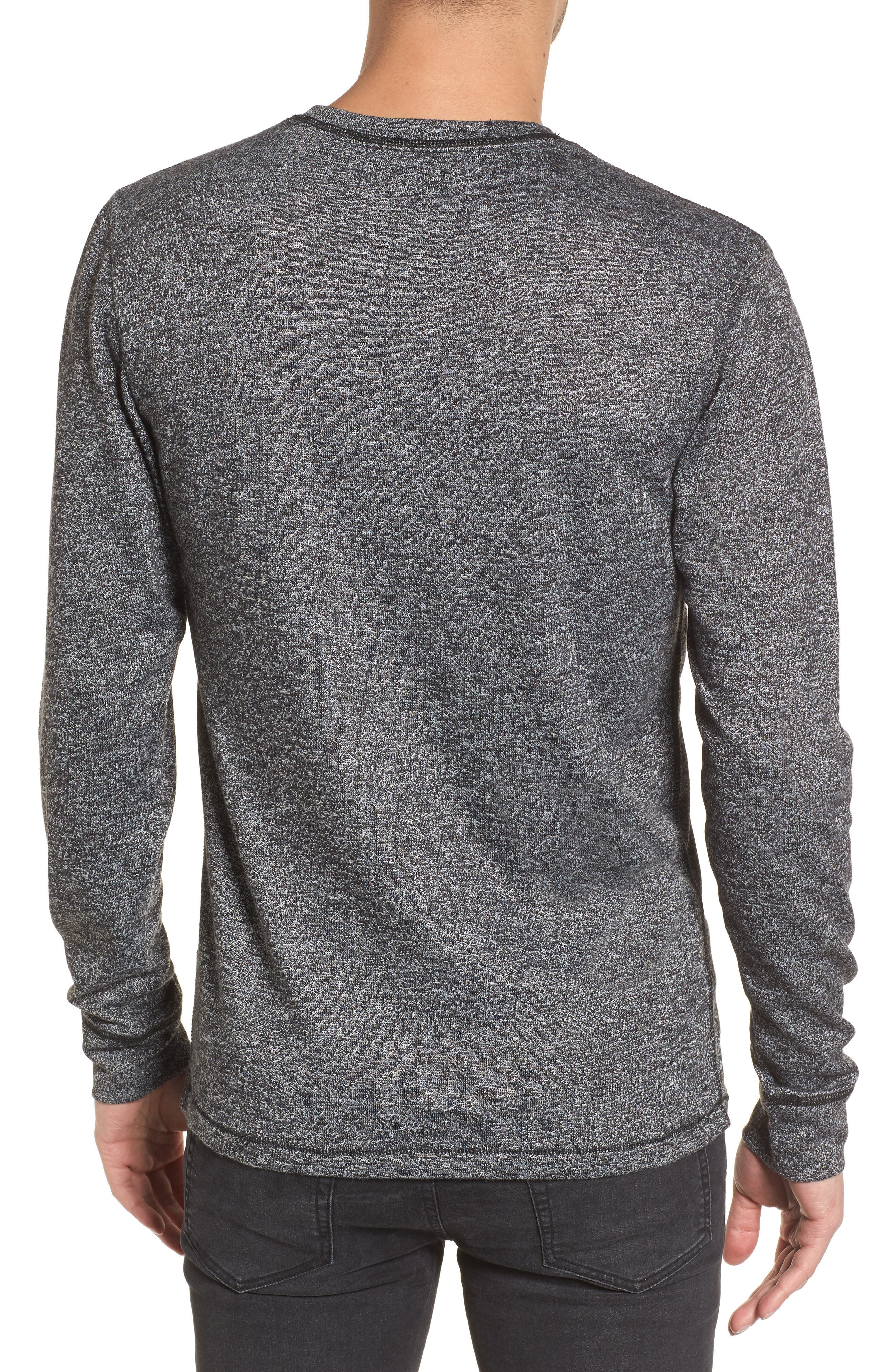 Treasure&Bond Crewneck Sweater,                             Alternate thumbnail 2, color,                             001