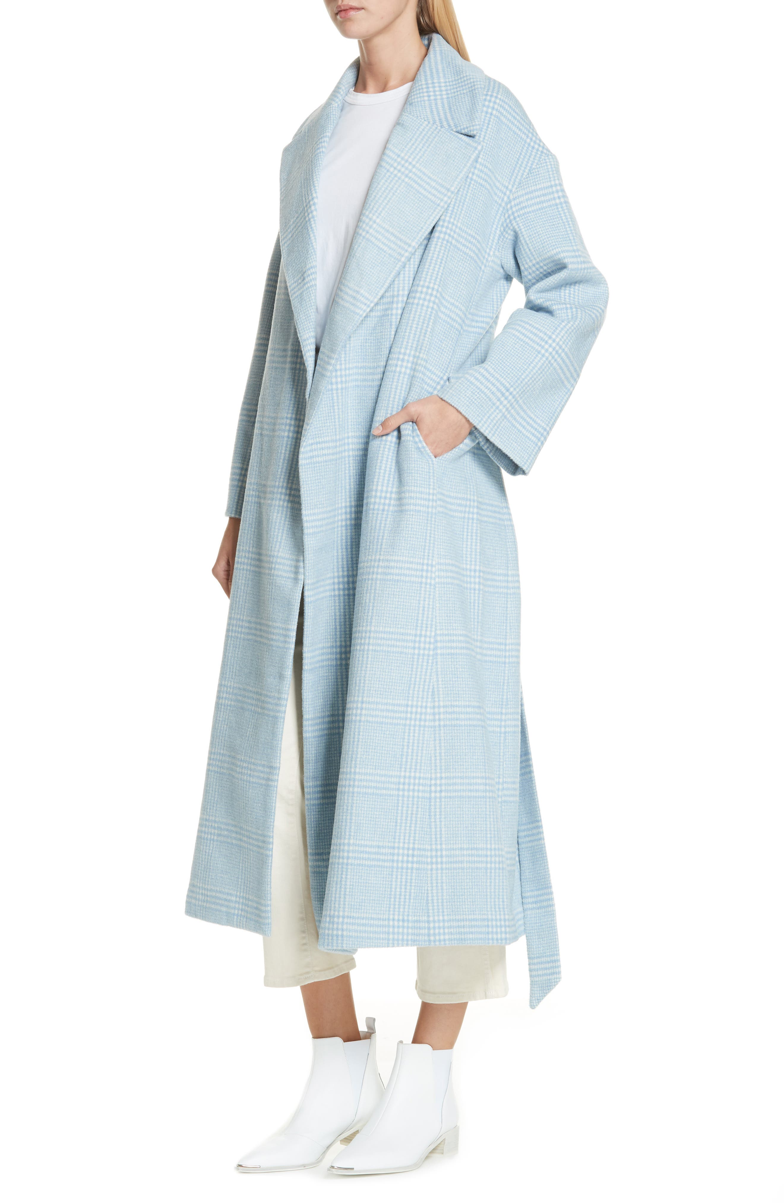 Woodside Coat,                             Alternate thumbnail 4, color,                             SERENITY BLUE