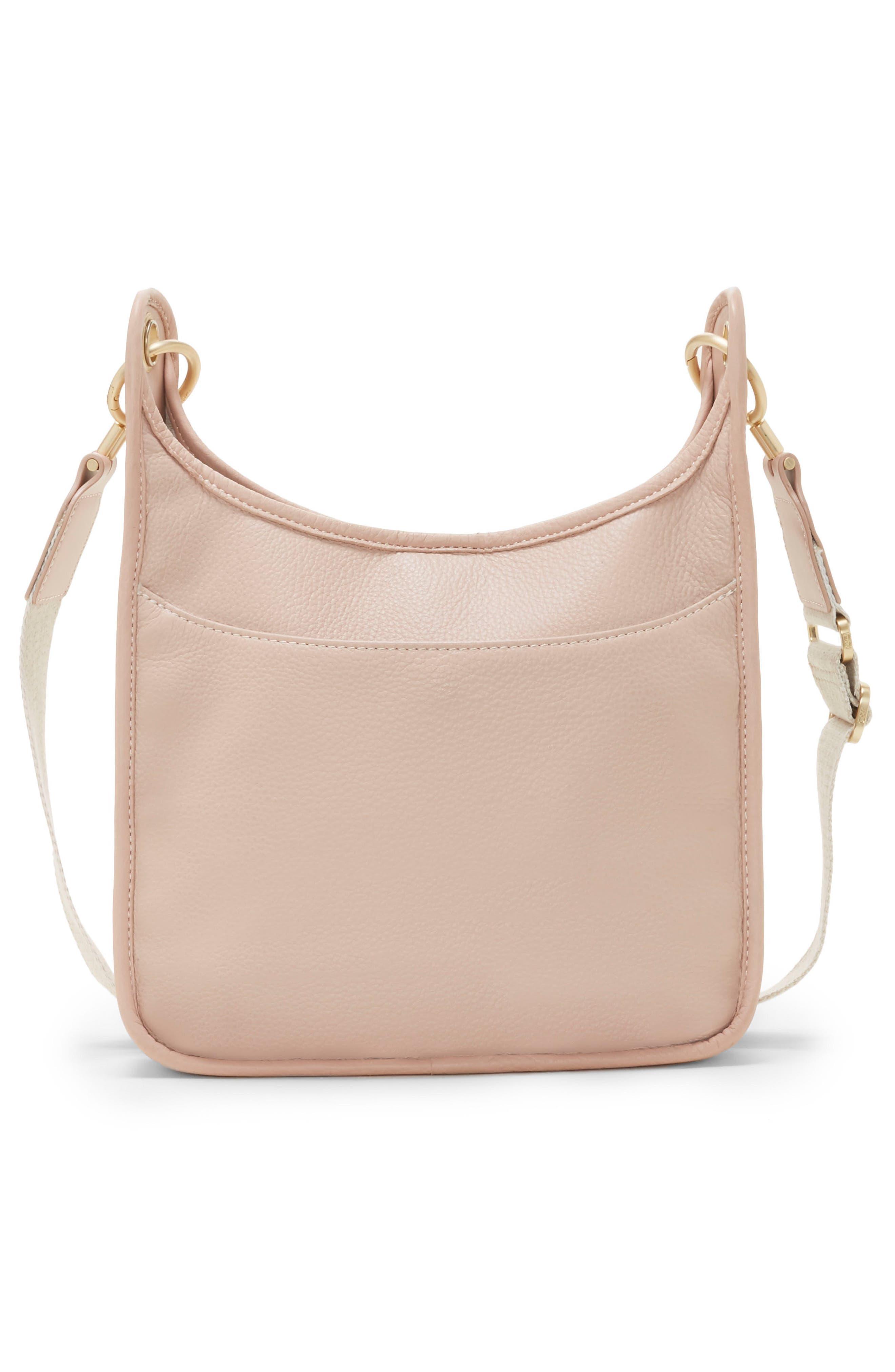 Leather Crossbody Bag,                             Alternate thumbnail 7, color,