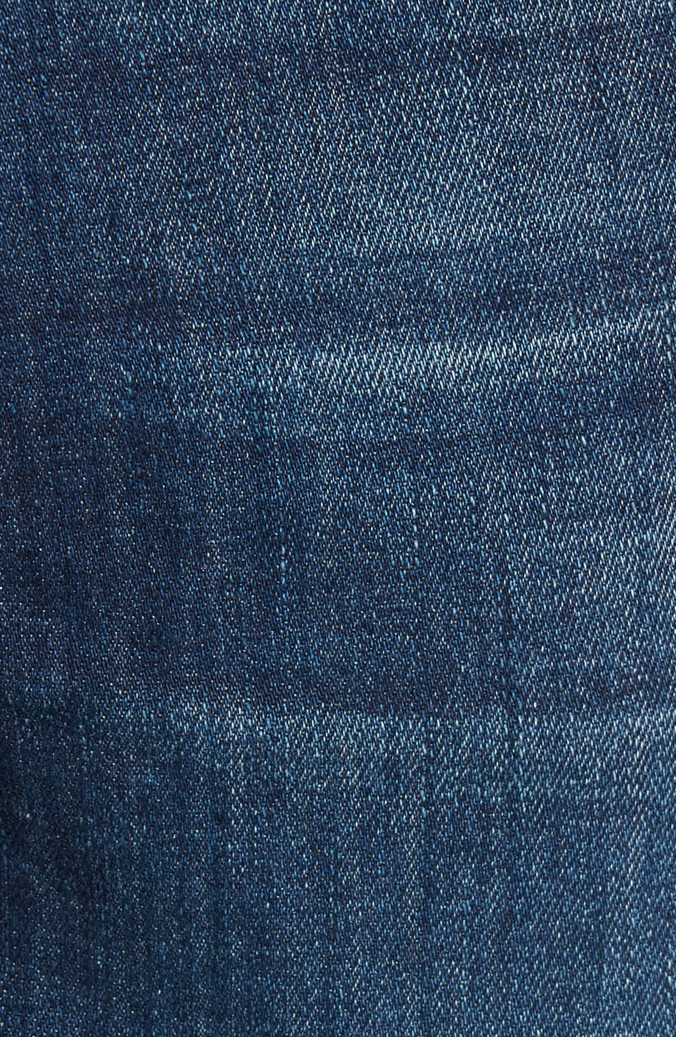 Sid Straight Fit Jeans,                             Alternate thumbnail 5, color,                             410