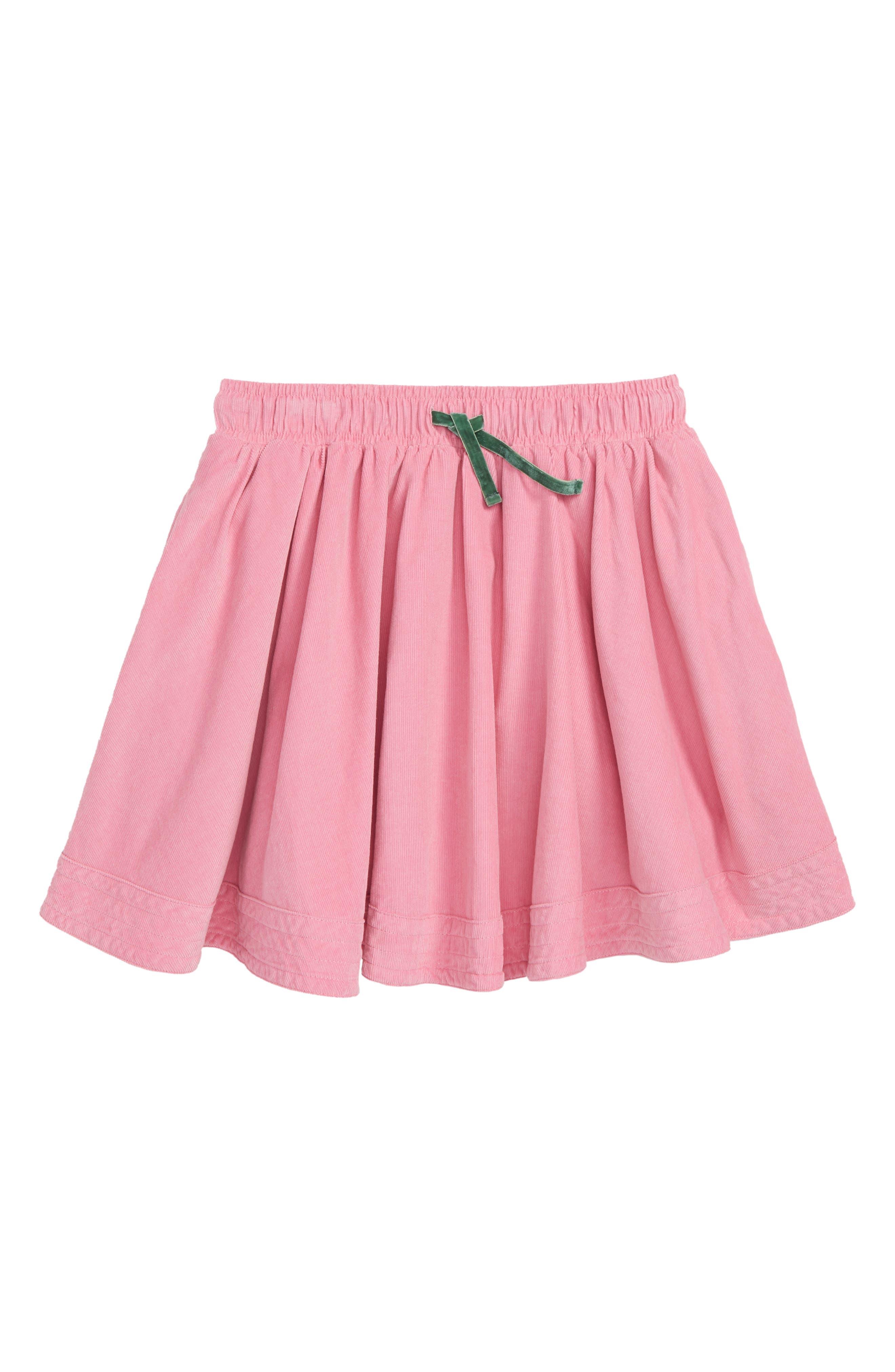 Simple Colorful Corduroy Skirt,                             Main thumbnail 1, color,                             664