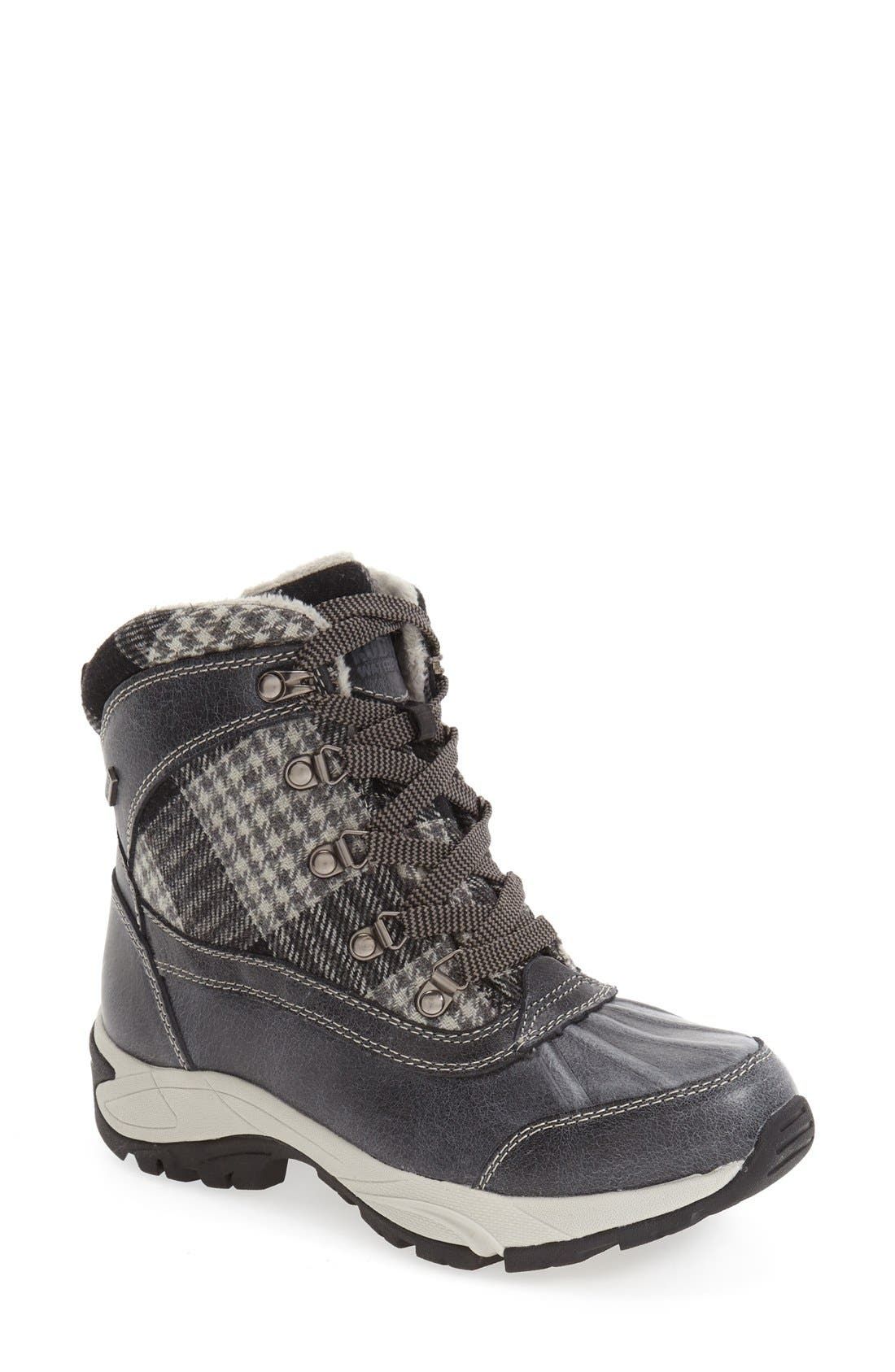 Rochelle Waterproof Insulated Winter Boot,                             Main thumbnail 1, color,                             002