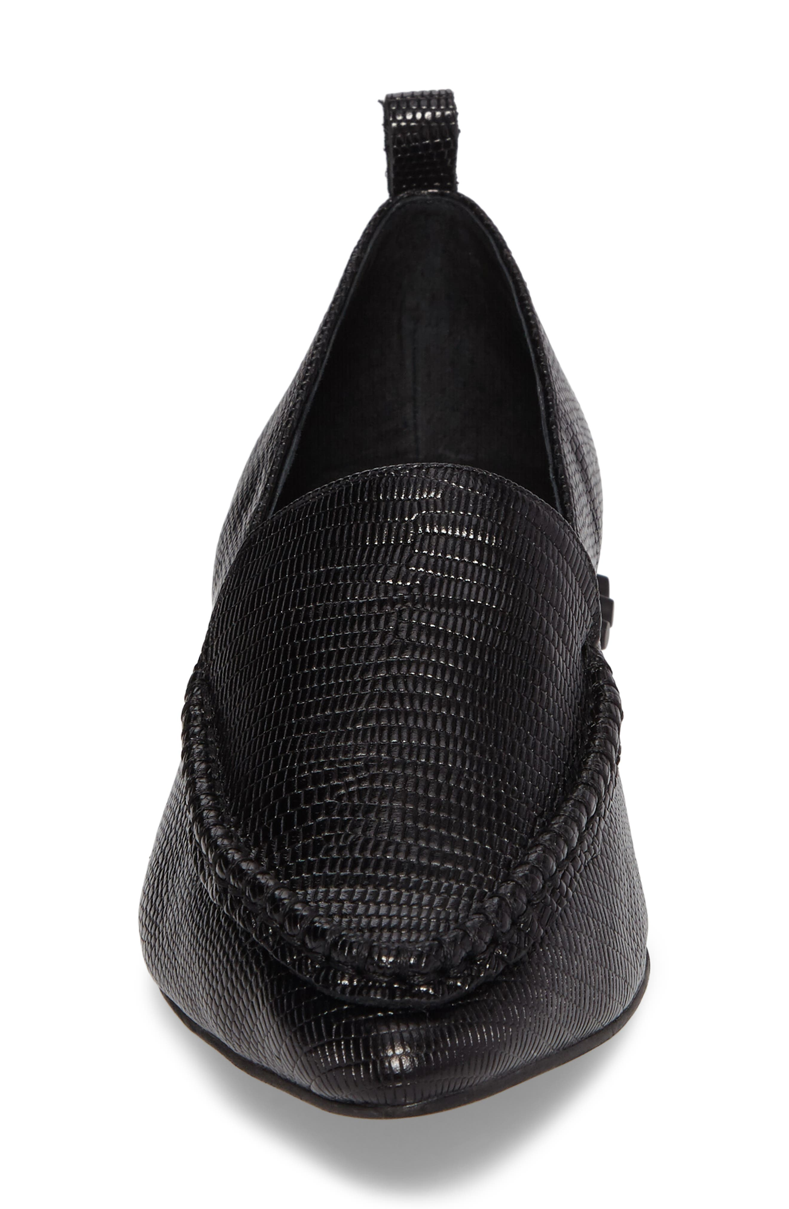 Barnett Studded Loafer,                             Alternate thumbnail 4, color,                             002