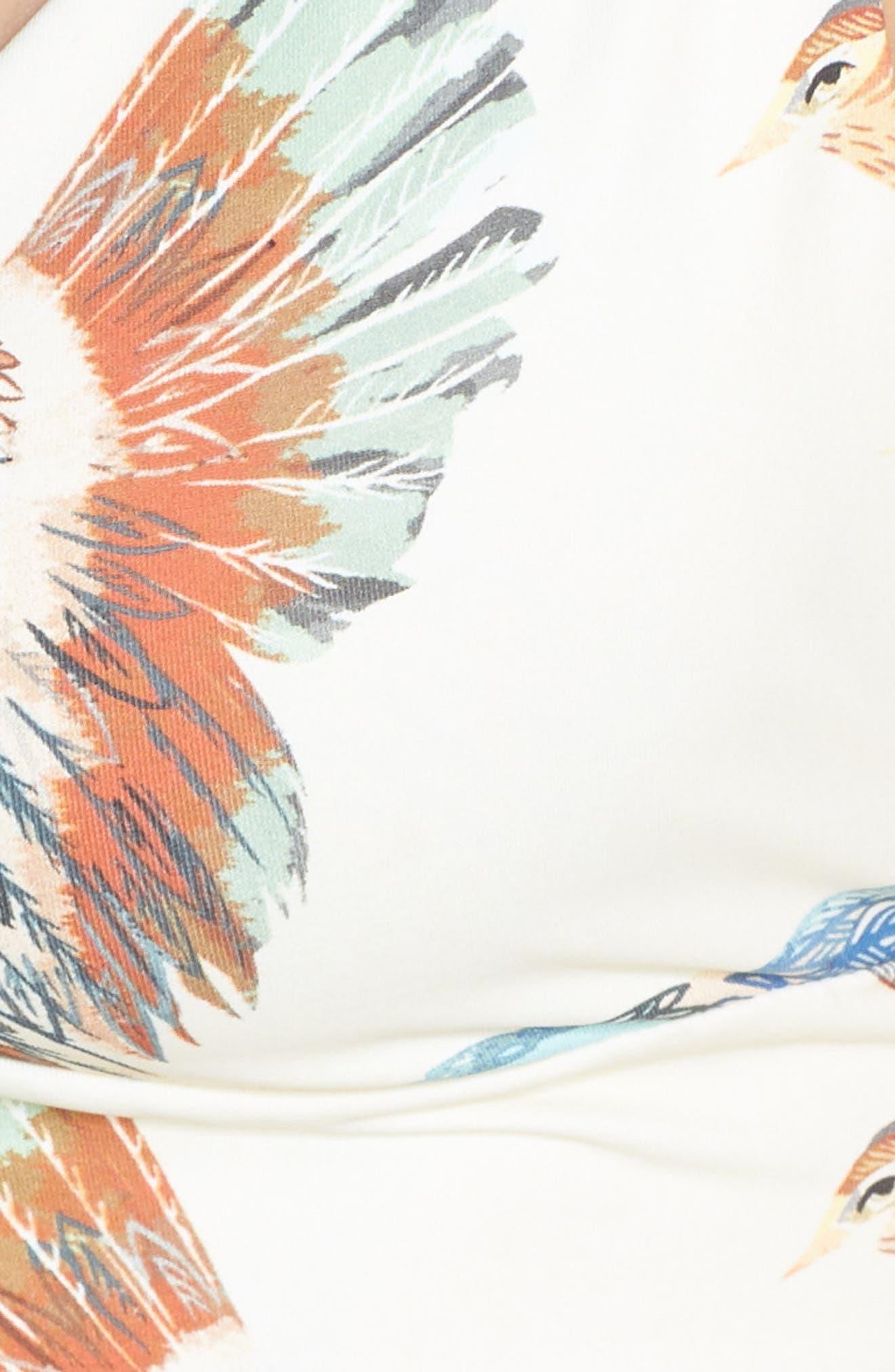 BOYS + ARROWS,                             'Fillis the Firecracker' Bikini Top,                             Alternate thumbnail 6, color,                             BIRD