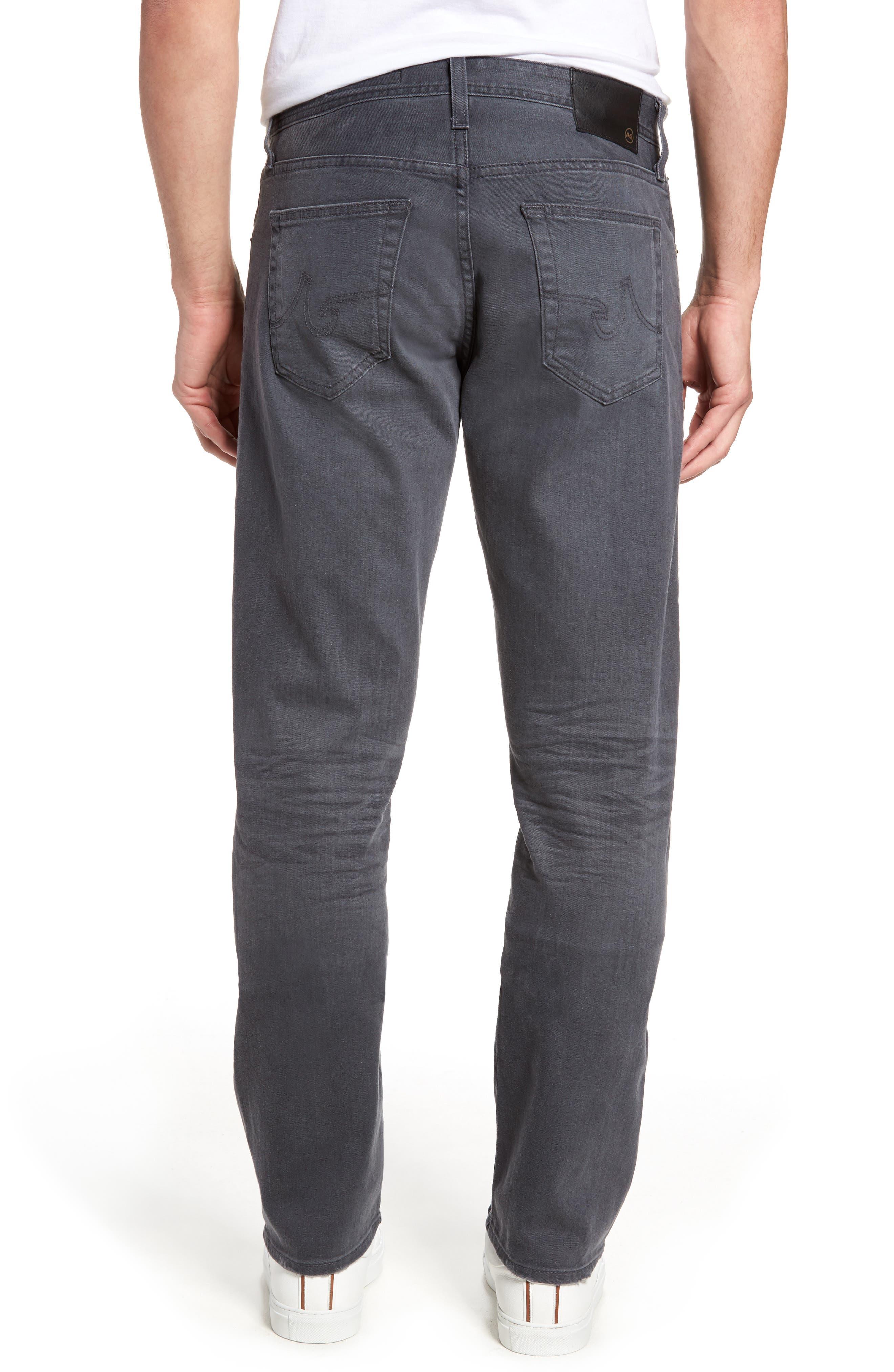Ives Straight Leg Jeans,                             Alternate thumbnail 2, color,                             020