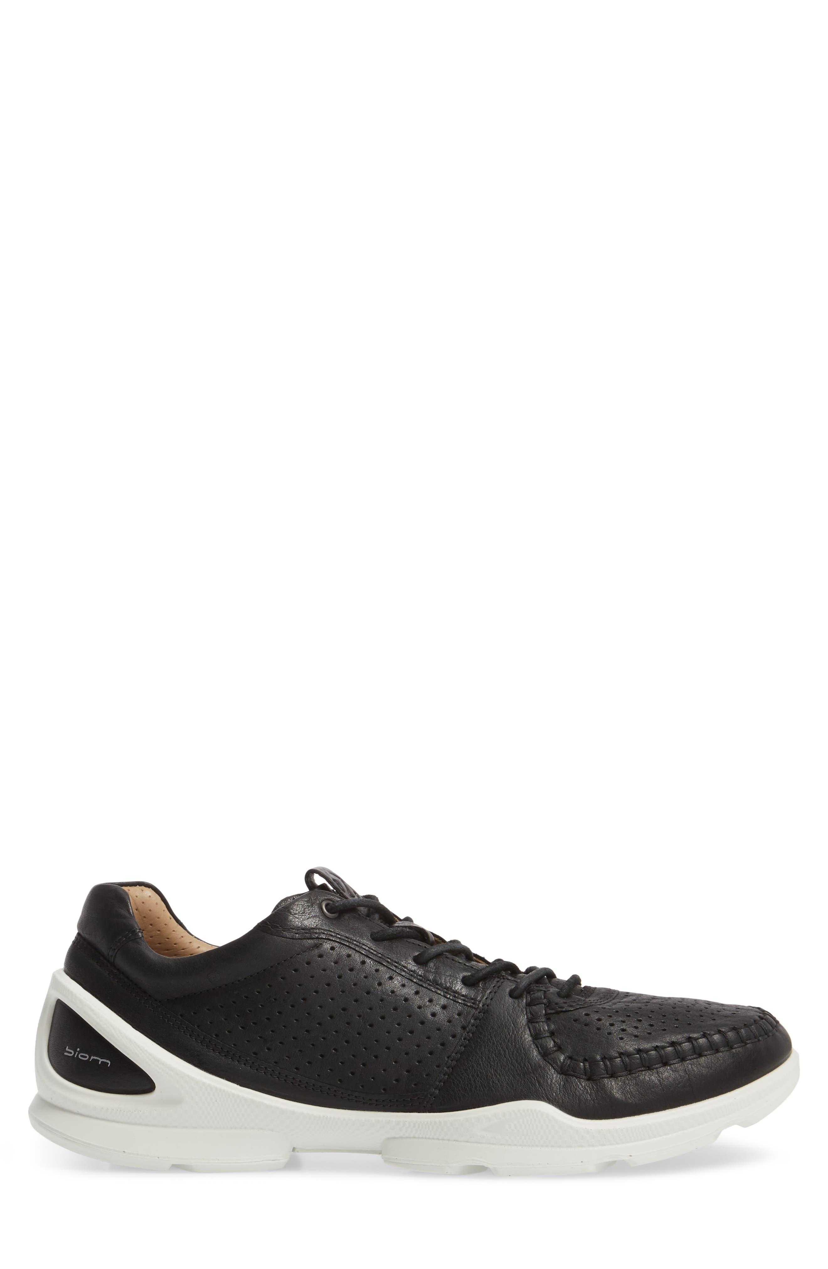 BIOM Street Moc Toe Sneaker,                             Alternate thumbnail 3, color,                             008