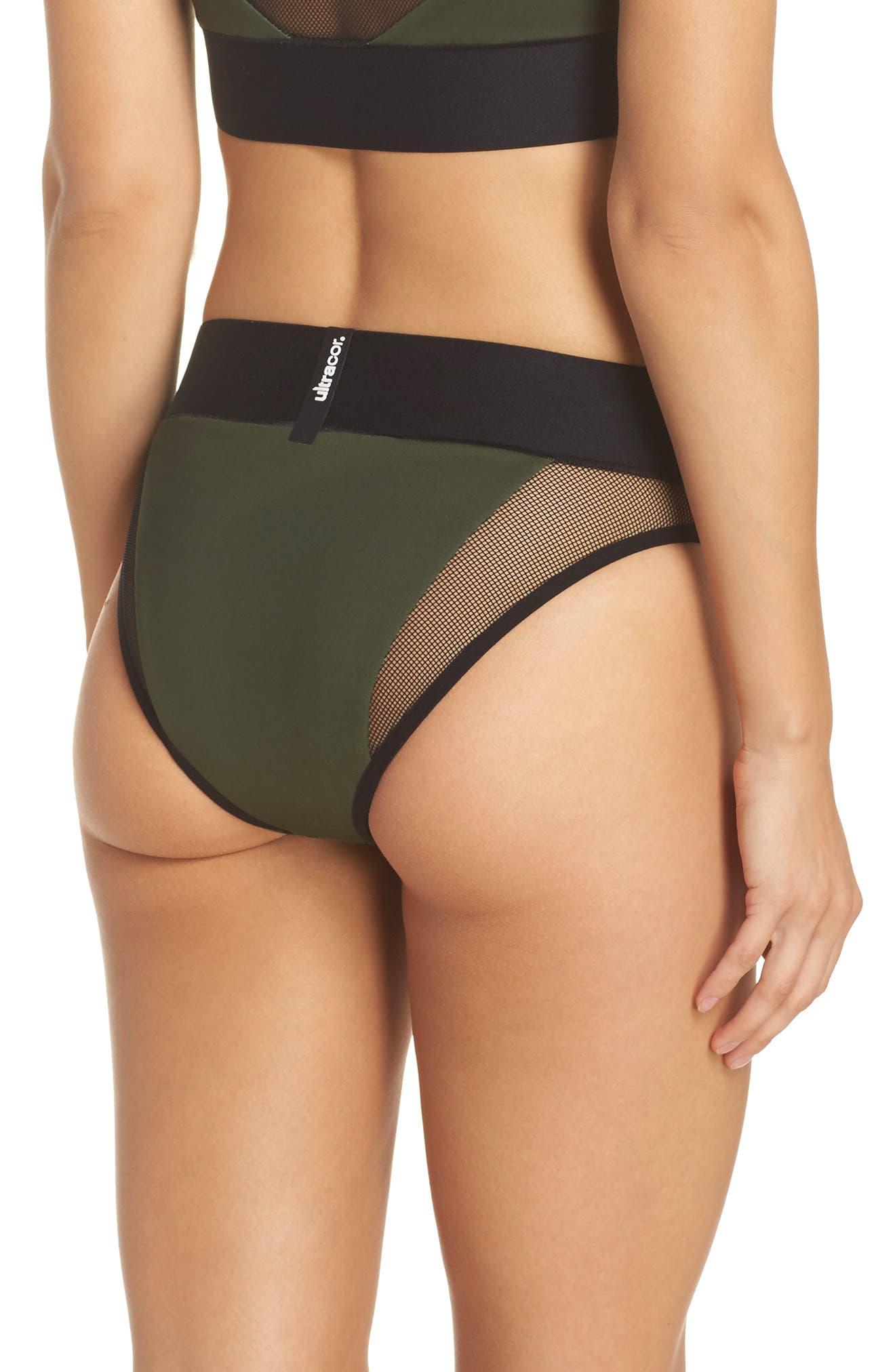 Reef Sport Mesh High-Waist Bikini Bottoms,                             Alternate thumbnail 2, color,                             302