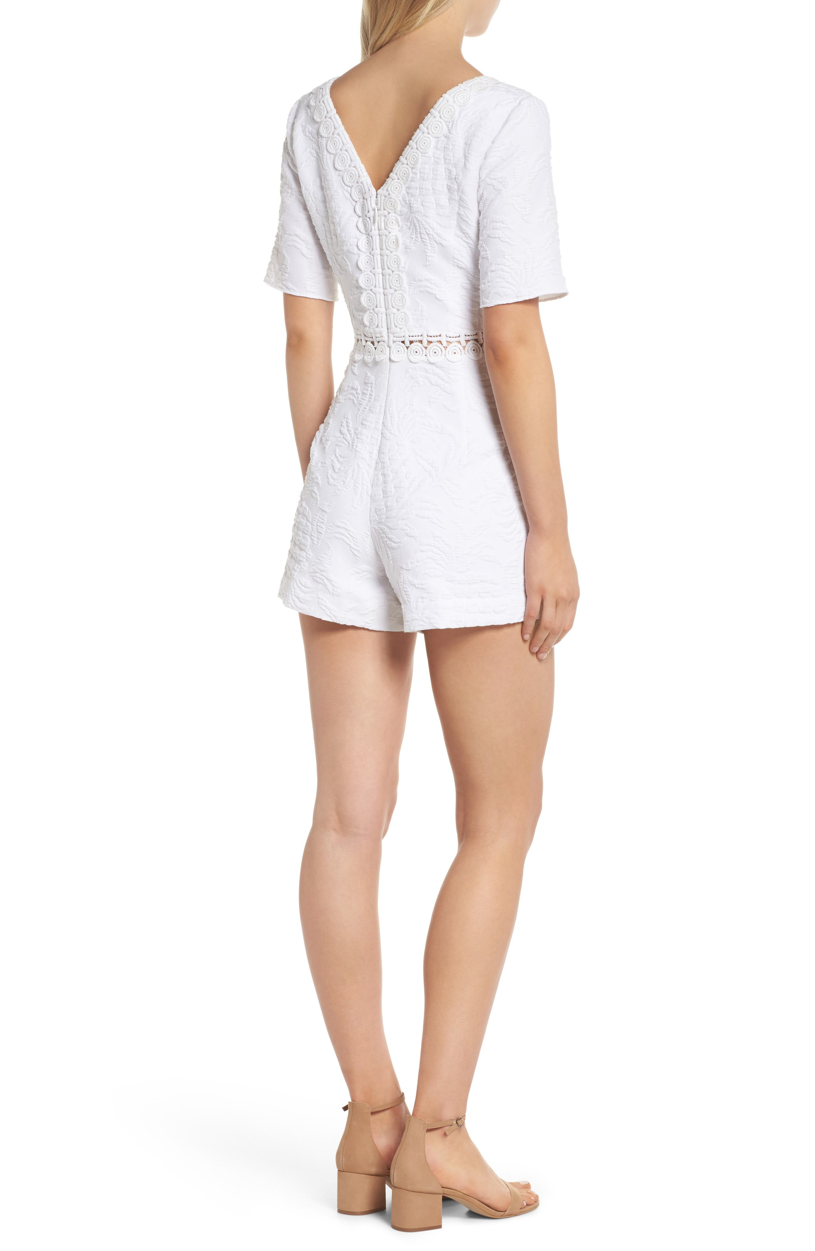 Zina Romper,                             Alternate thumbnail 2, color,                             100