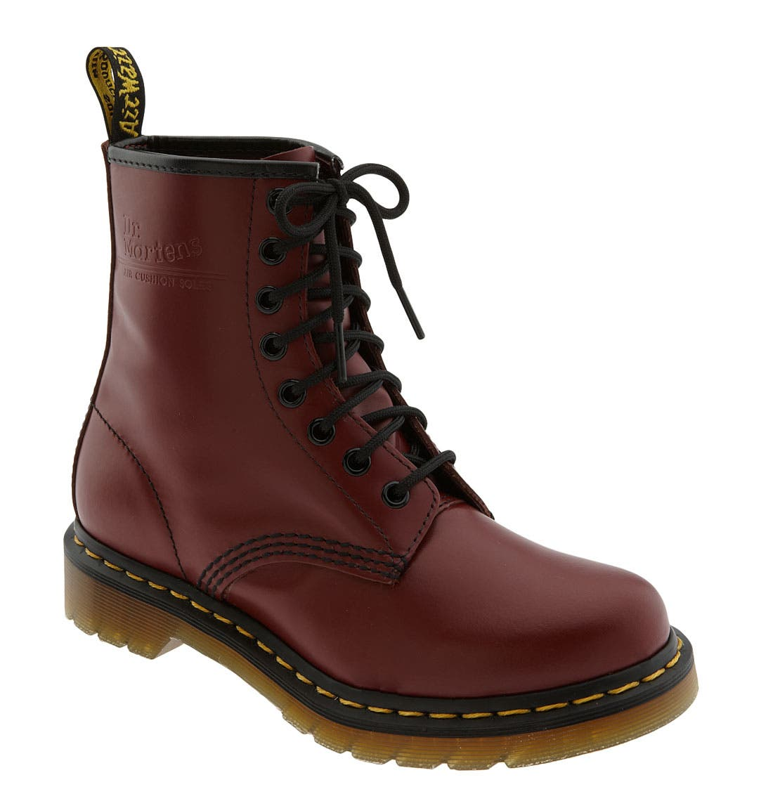'1460 W' Boot,                             Main thumbnail 1, color,                             CHERRY