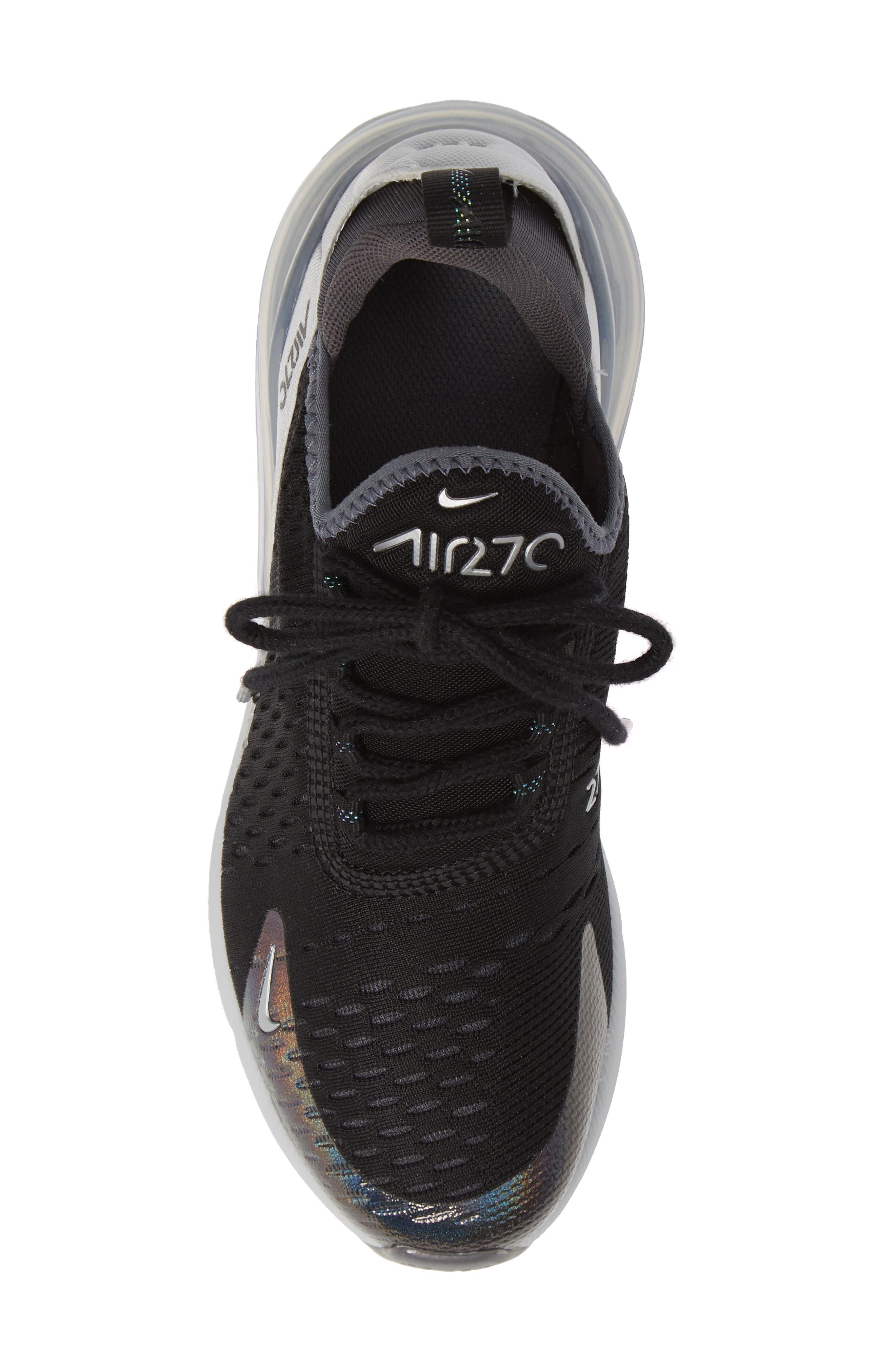 Air Max 270 Y2K Sneaker,                             Alternate thumbnail 5, color,                             BLACK