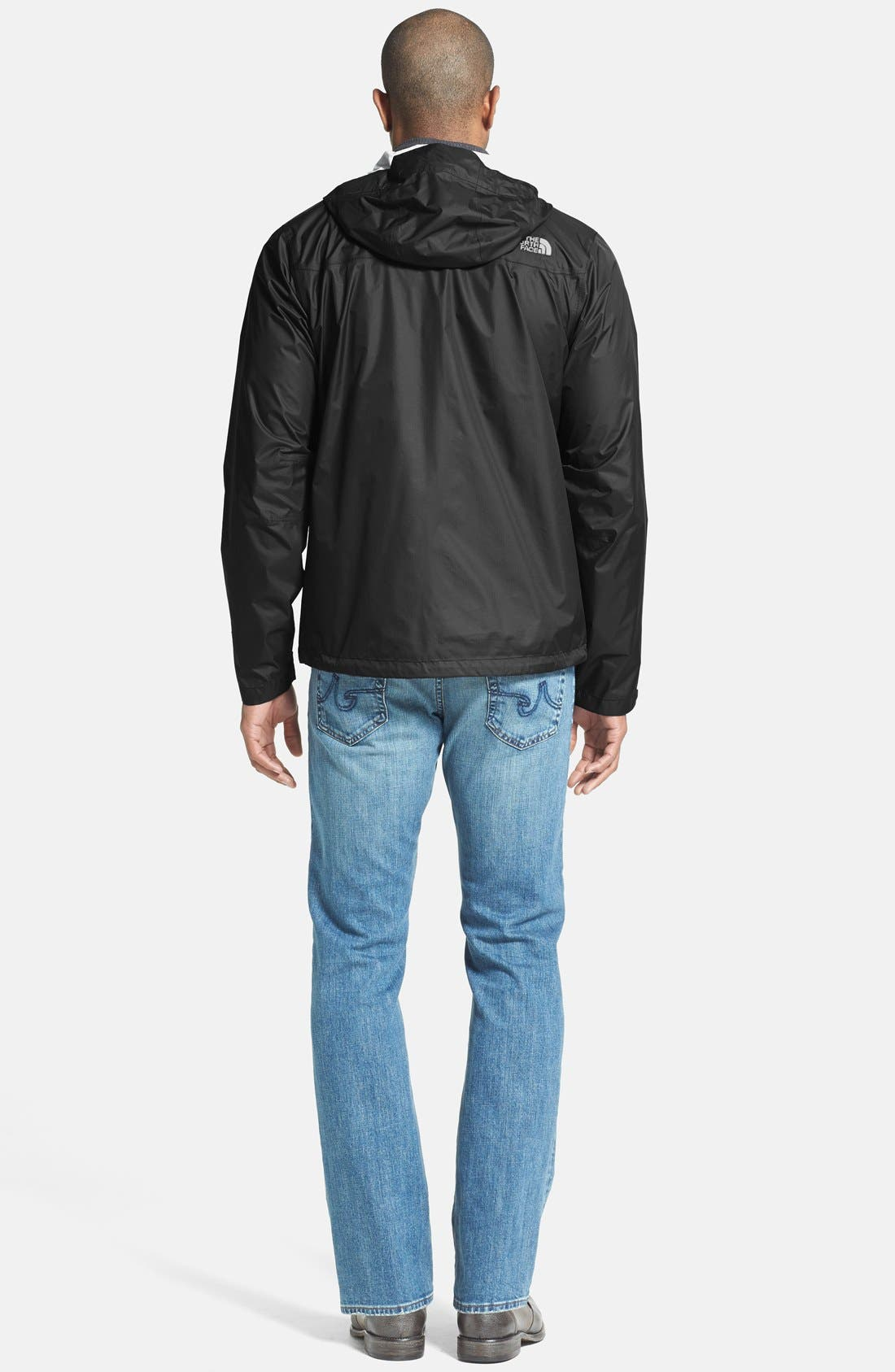 THE NORTH FACE,                             Venture Waterproof Jacket,                             Alternate thumbnail 4, color,                             001