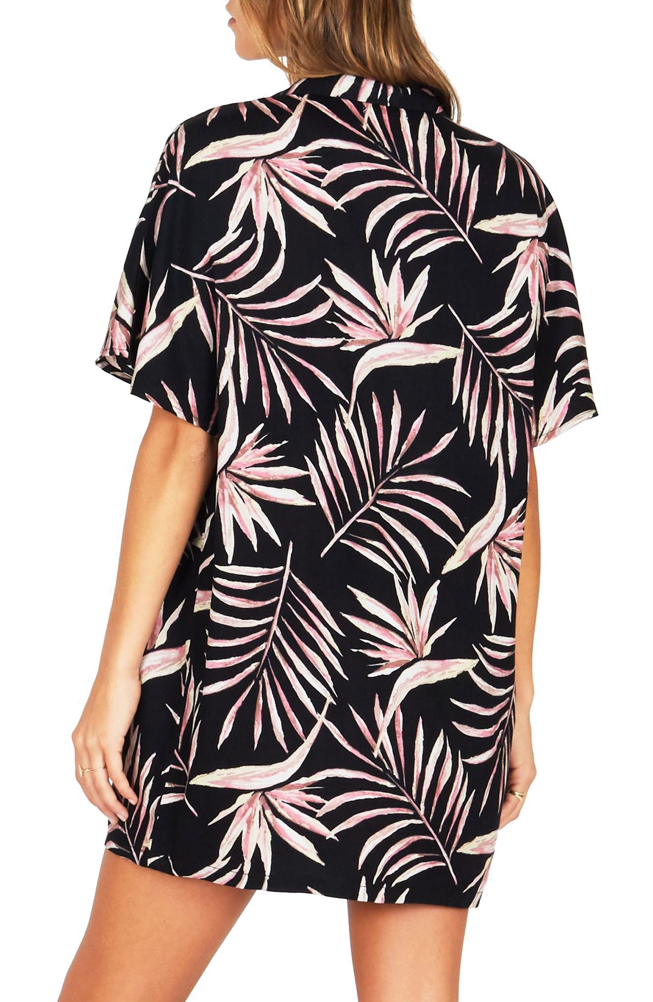 Bird in Paradise Shirtdress,                             Alternate thumbnail 2, color,                             001