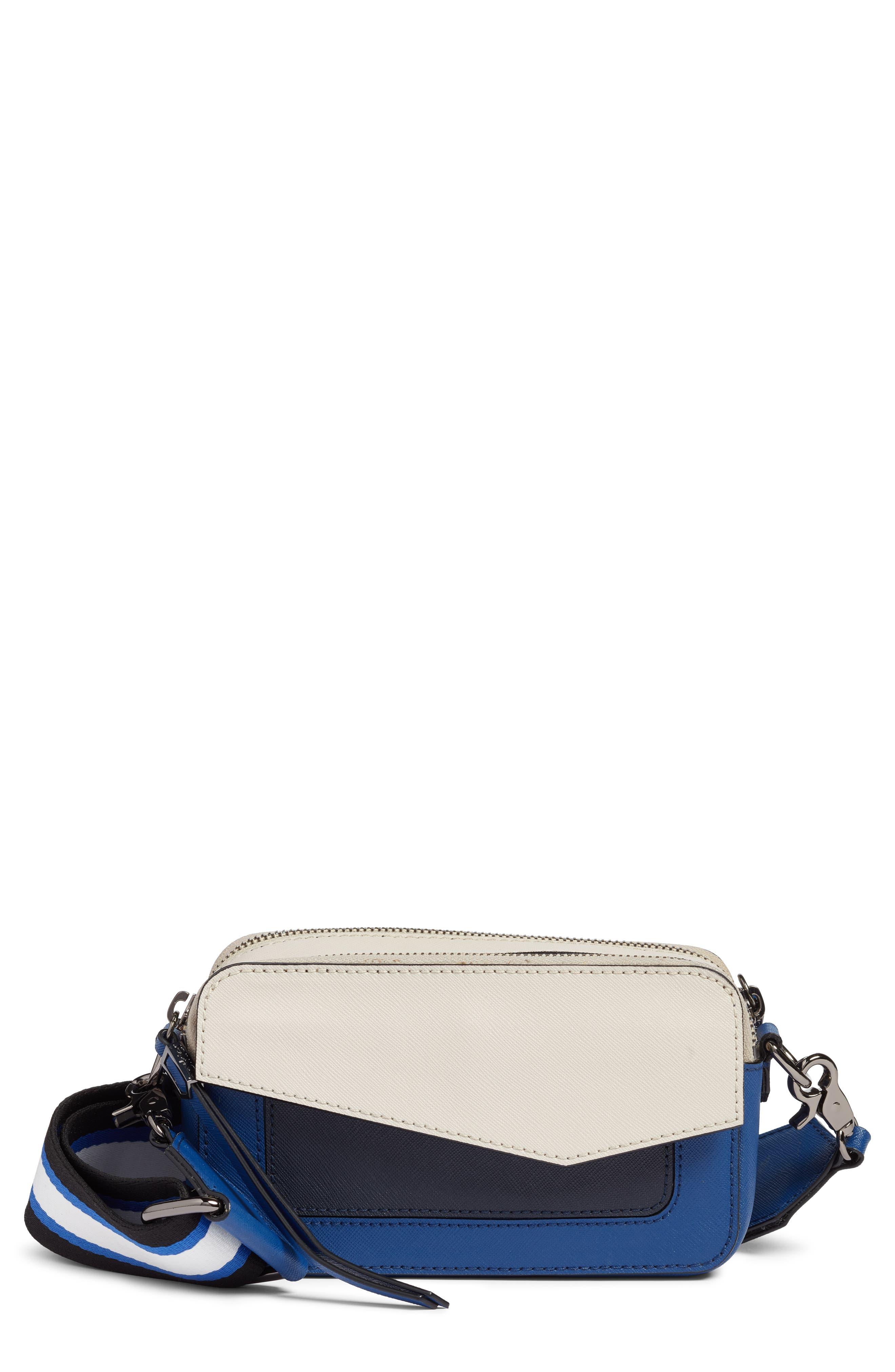Cobble Hill Mini Crossbody Camera Bag,                             Main thumbnail 1, color,                             WINTER BLUE COMBO