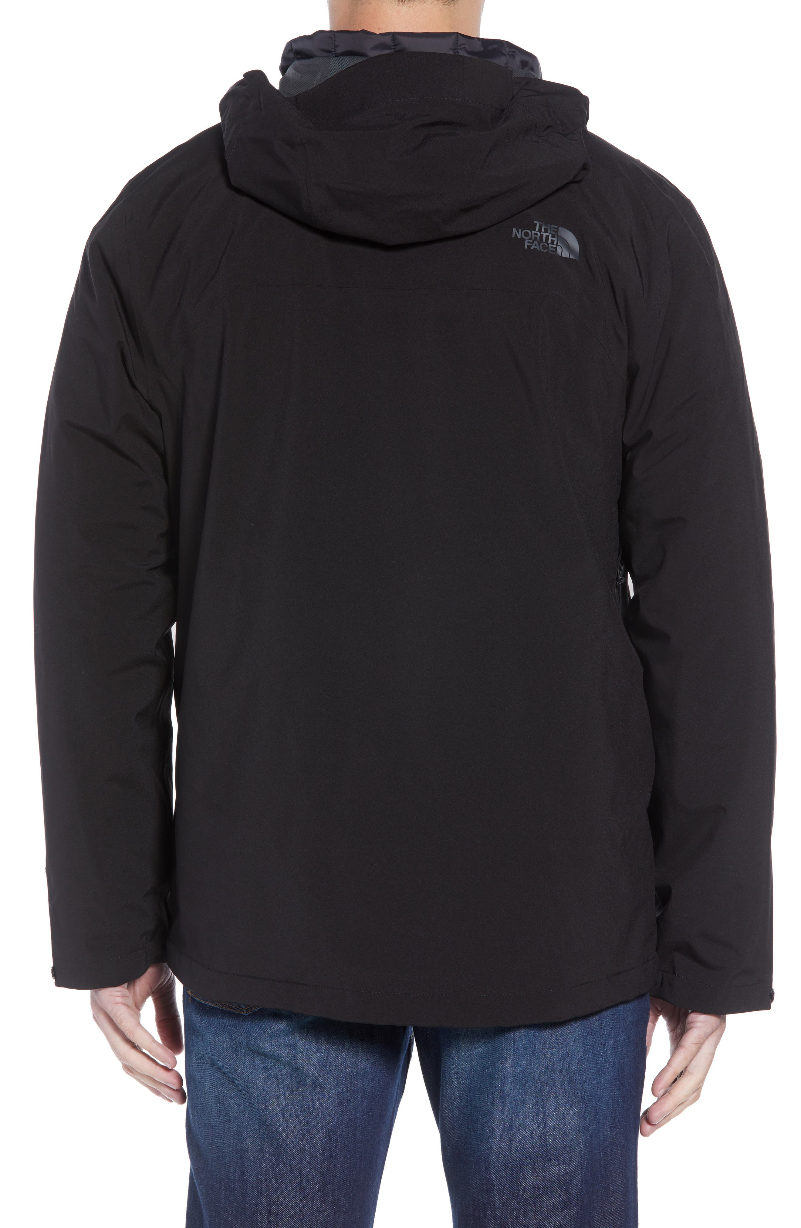 ThermoBall TriClimate<sup>®</sup> 3-in-1 Jacket,                             Alternate thumbnail 3, color,                             TNF BLACK/TNF BLACK