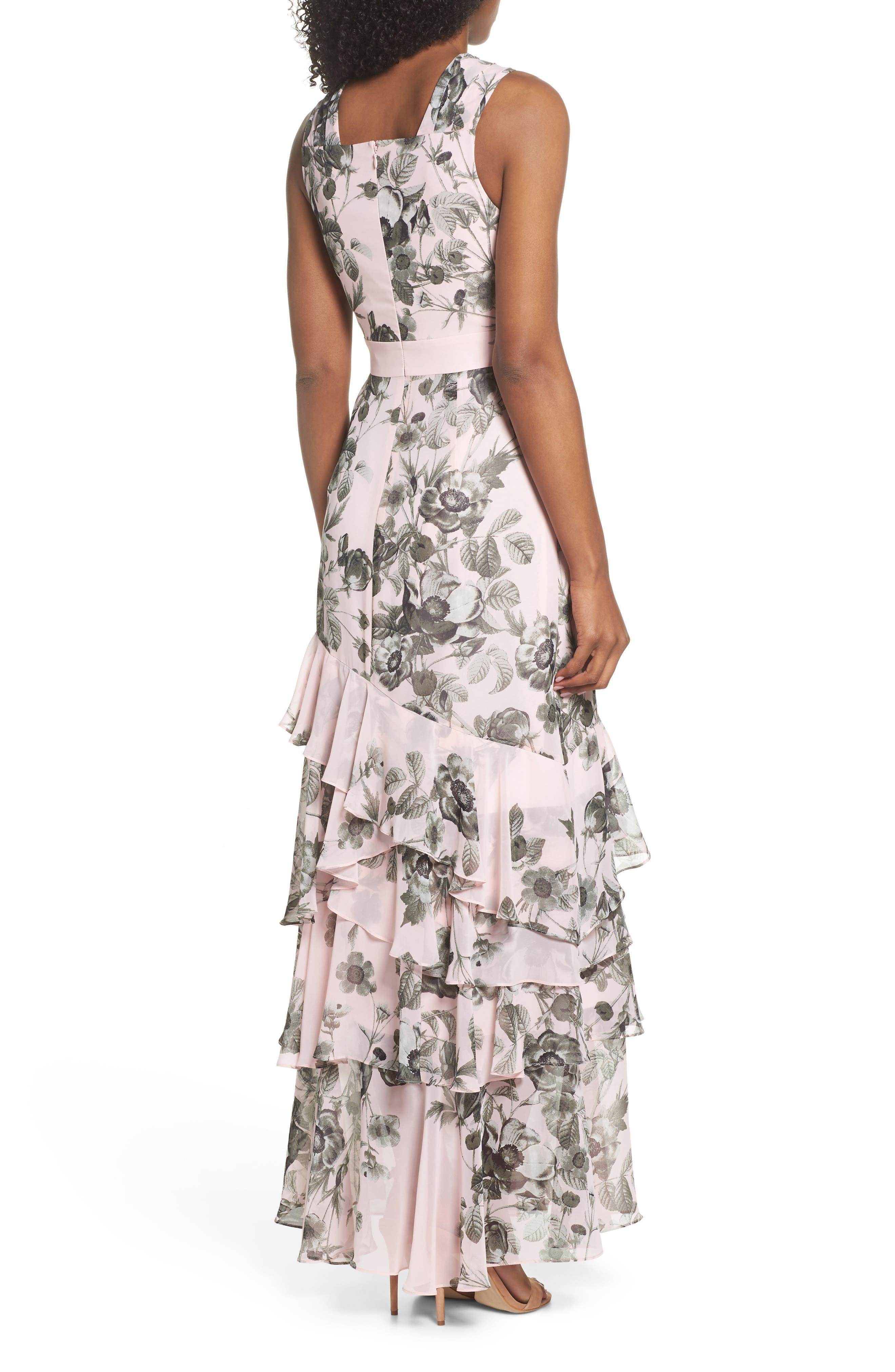 Halter Maxi Dress,                             Alternate thumbnail 2, color,                             660