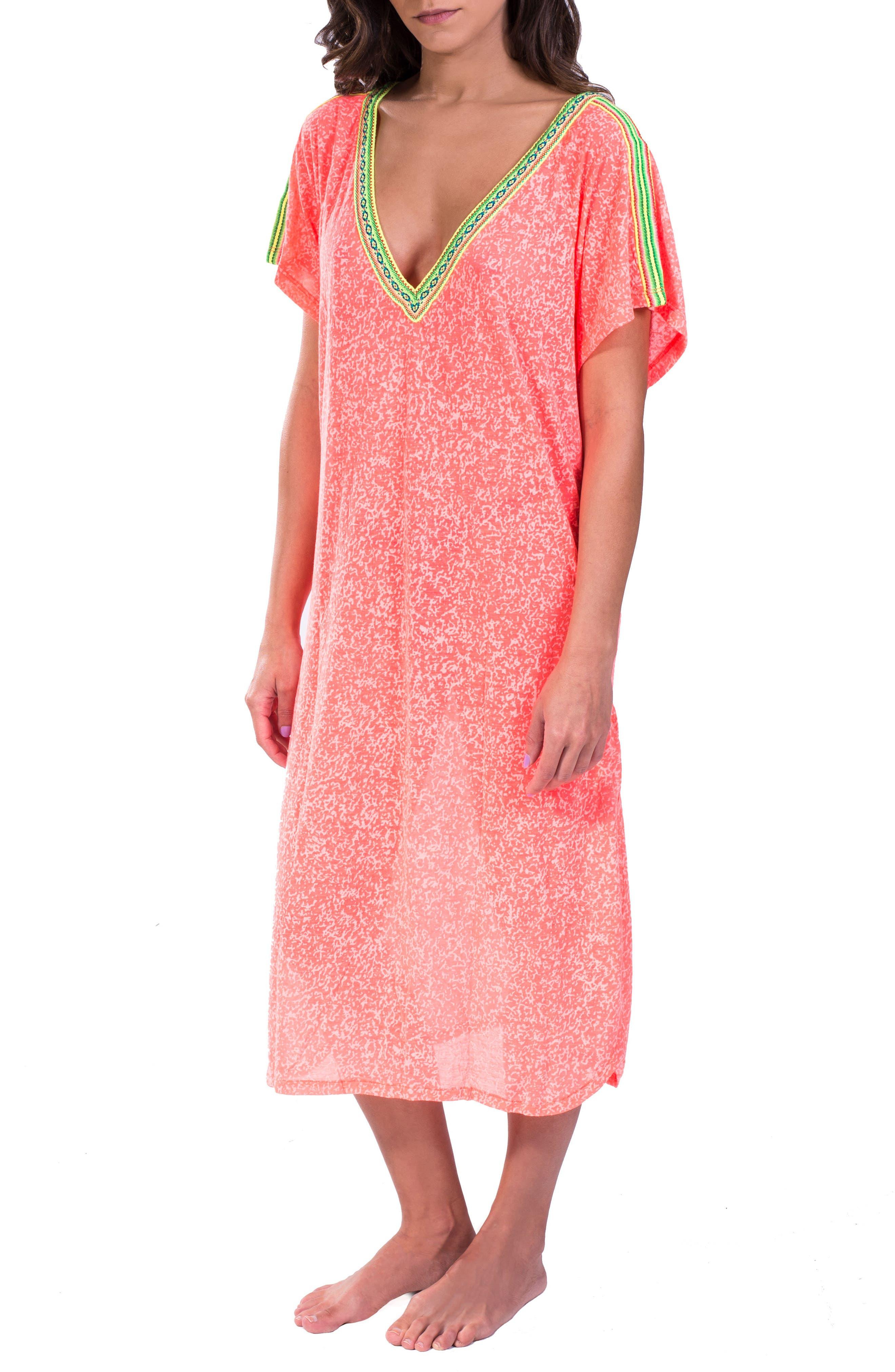 Cover-Up Midi Dress,                             Main thumbnail 4, color,