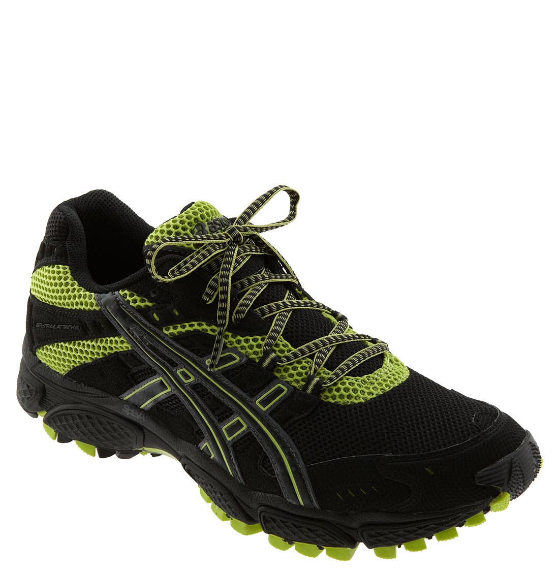'GEL-Trail Attack<sup>®</sup> 6' Trail Running Shoe,                             Main thumbnail 1, color,                             005