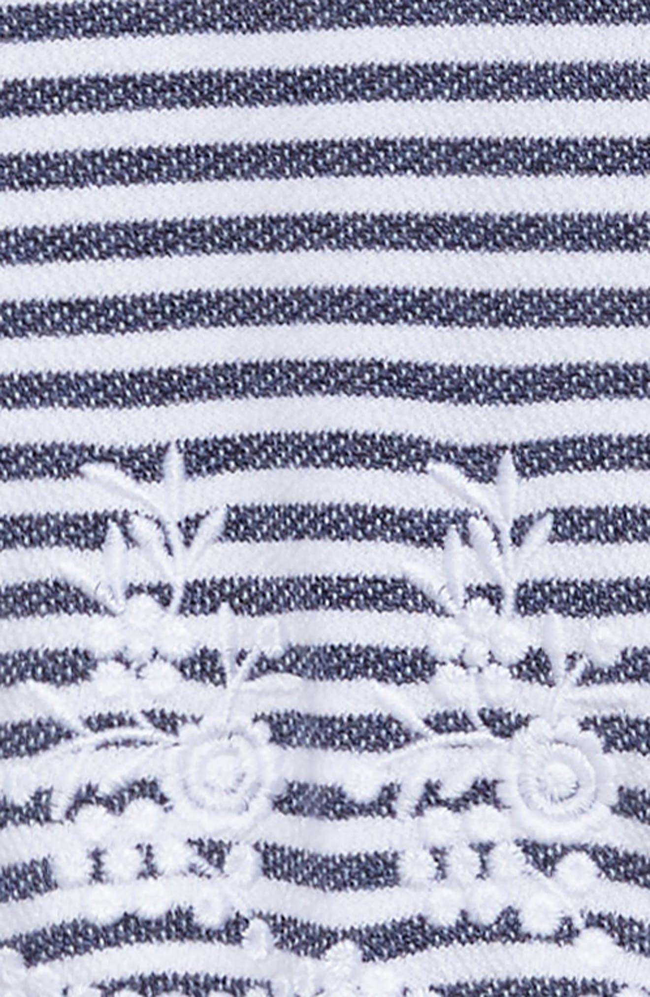 Brynne Stripe Dress,                             Alternate thumbnail 3, color,                             400
