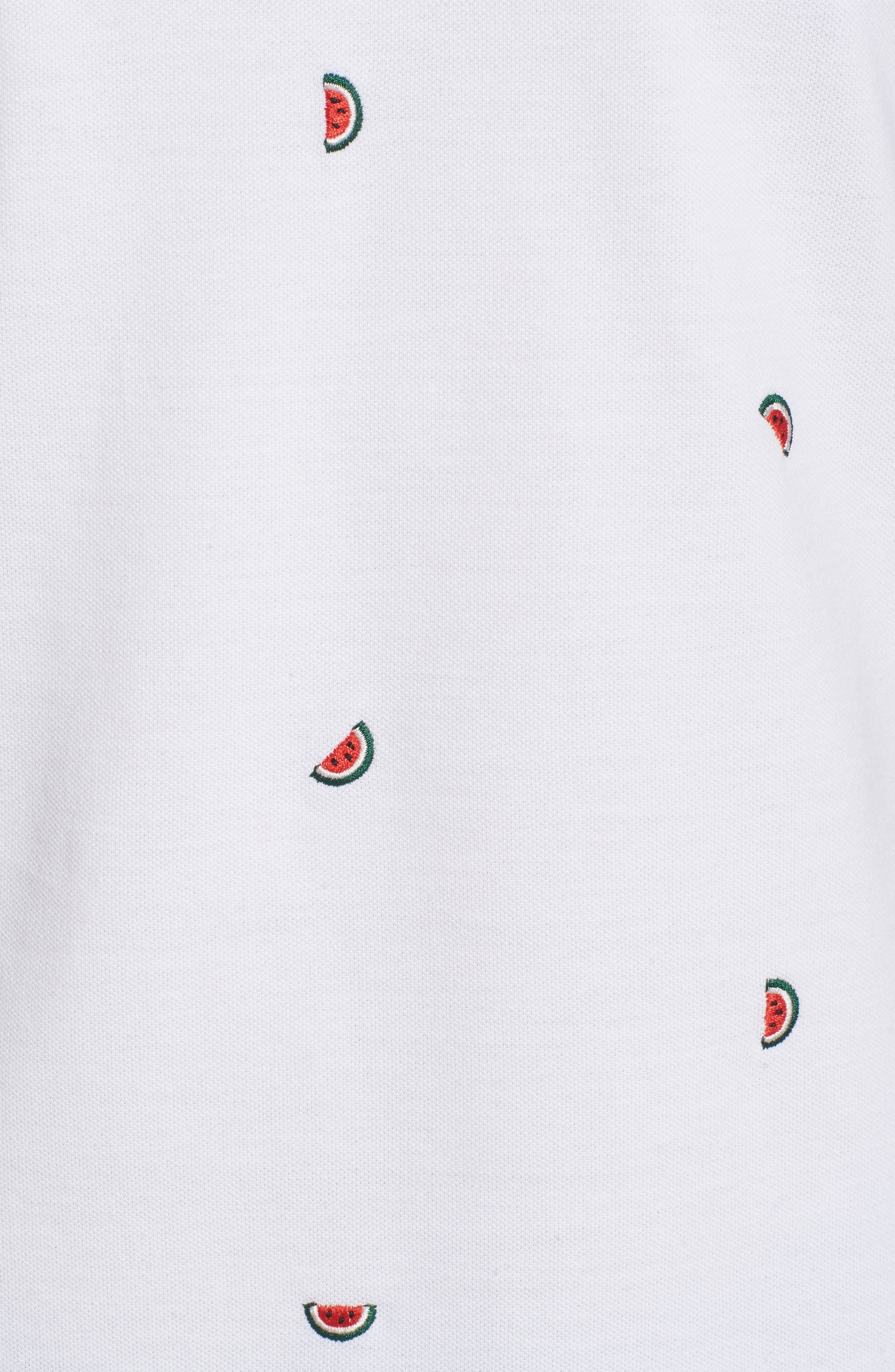 Slim Fit Embroidered Piqué Polo,                             Alternate thumbnail 10, color,