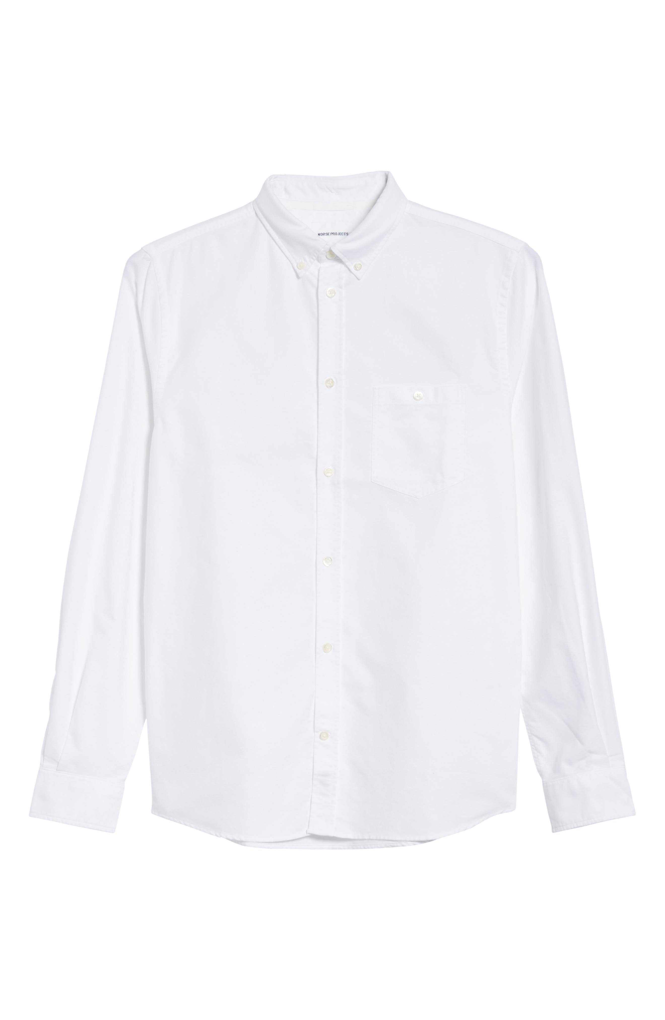 Anton Oxford Sport Shirt,                             Alternate thumbnail 6, color,                             100