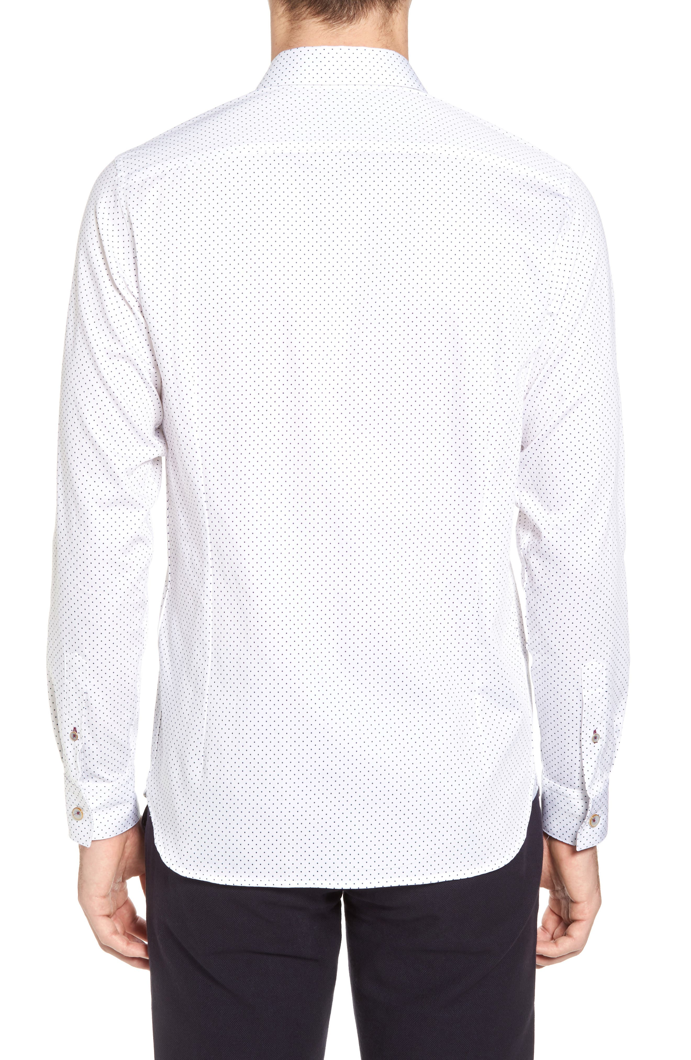 Skwere Trim Fit Sport Shirt,                             Alternate thumbnail 2, color,                             110