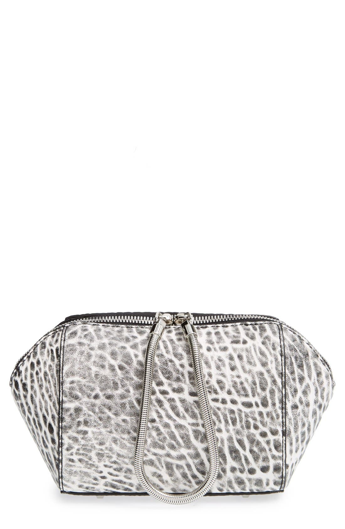 'Chastity' Clutch,                             Main thumbnail 1, color,                             001