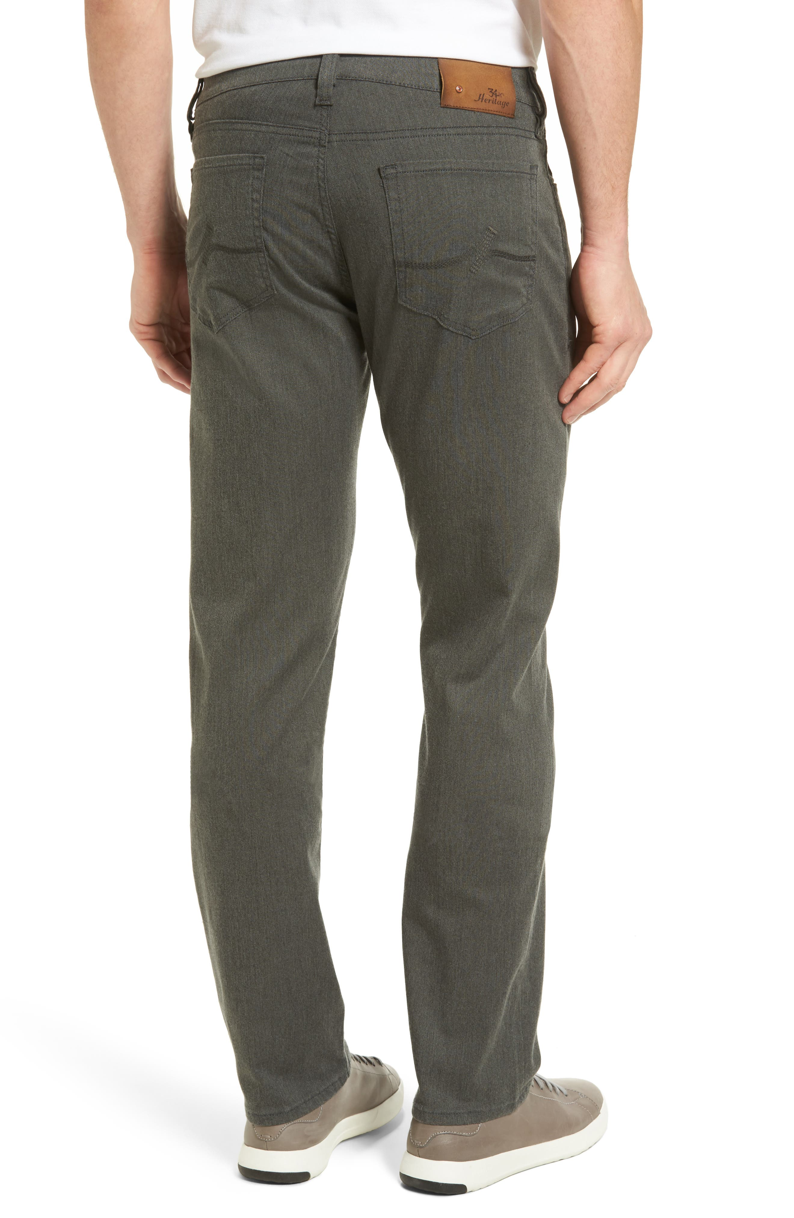 Courage Straight Leg Jeans,                             Alternate thumbnail 2, color,                             GREY LUXE