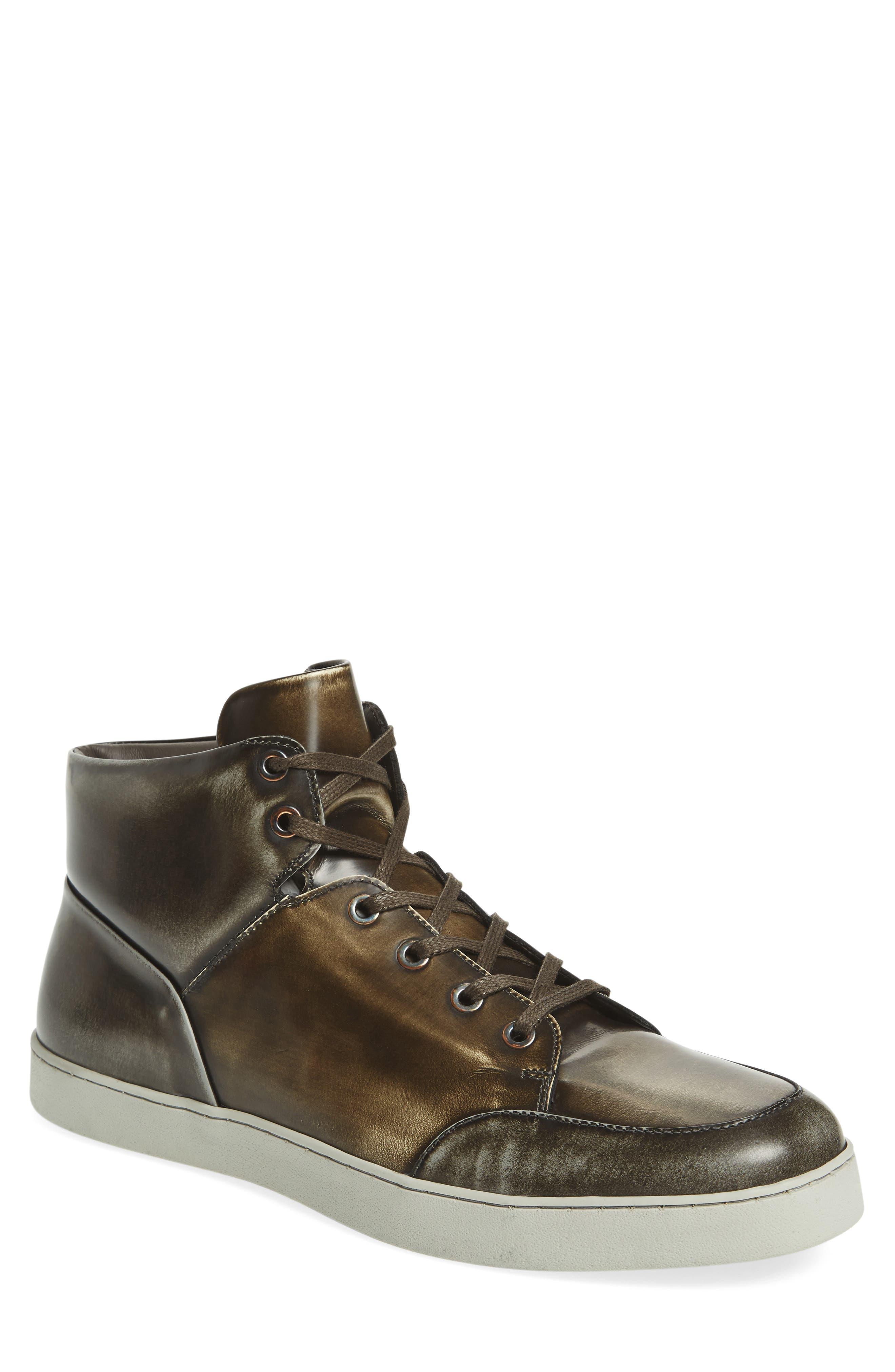Gidean High Top Sneaker,                         Main,                         color,