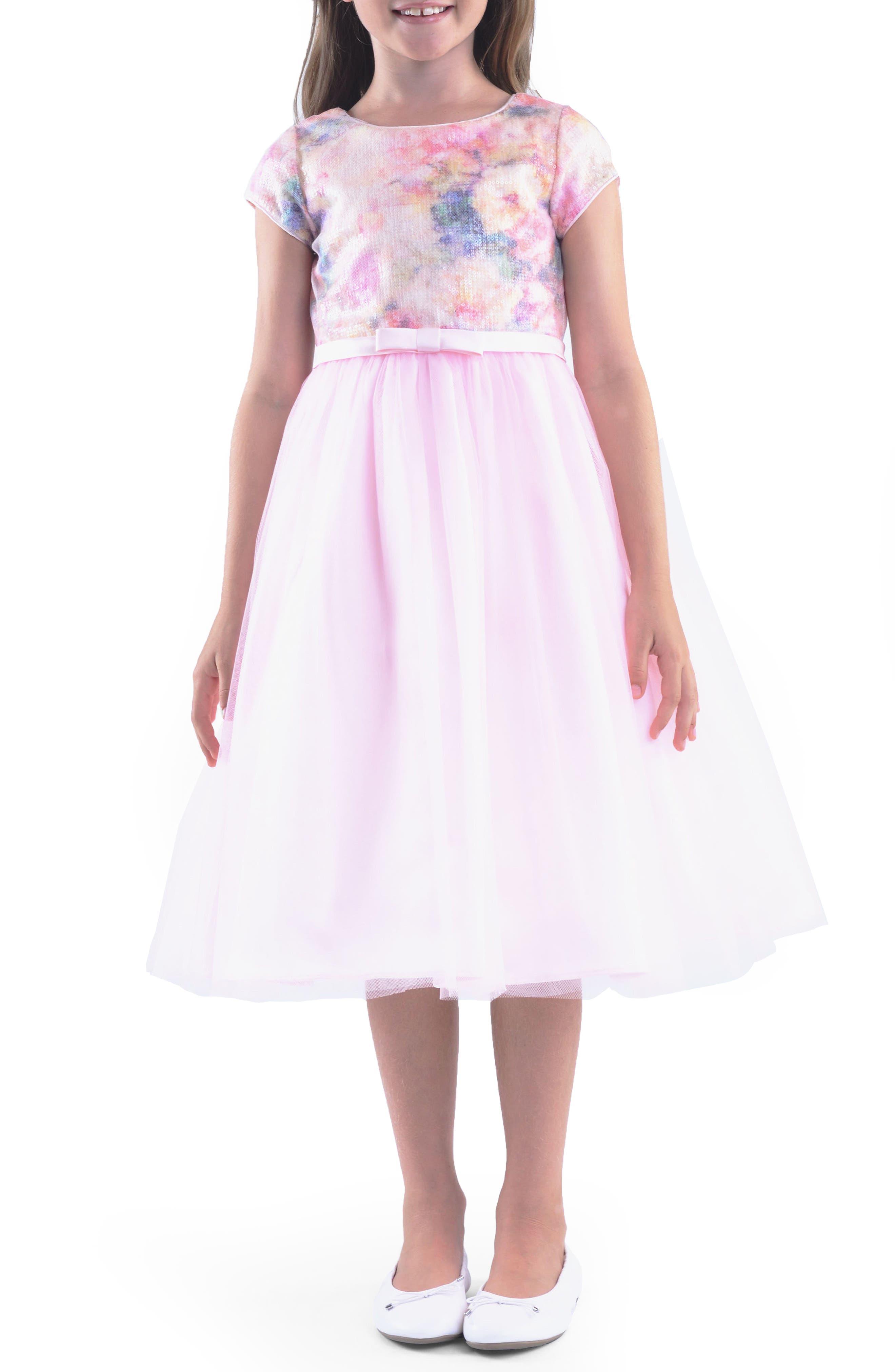 Embellished Dress,                         Main,                         color, 650