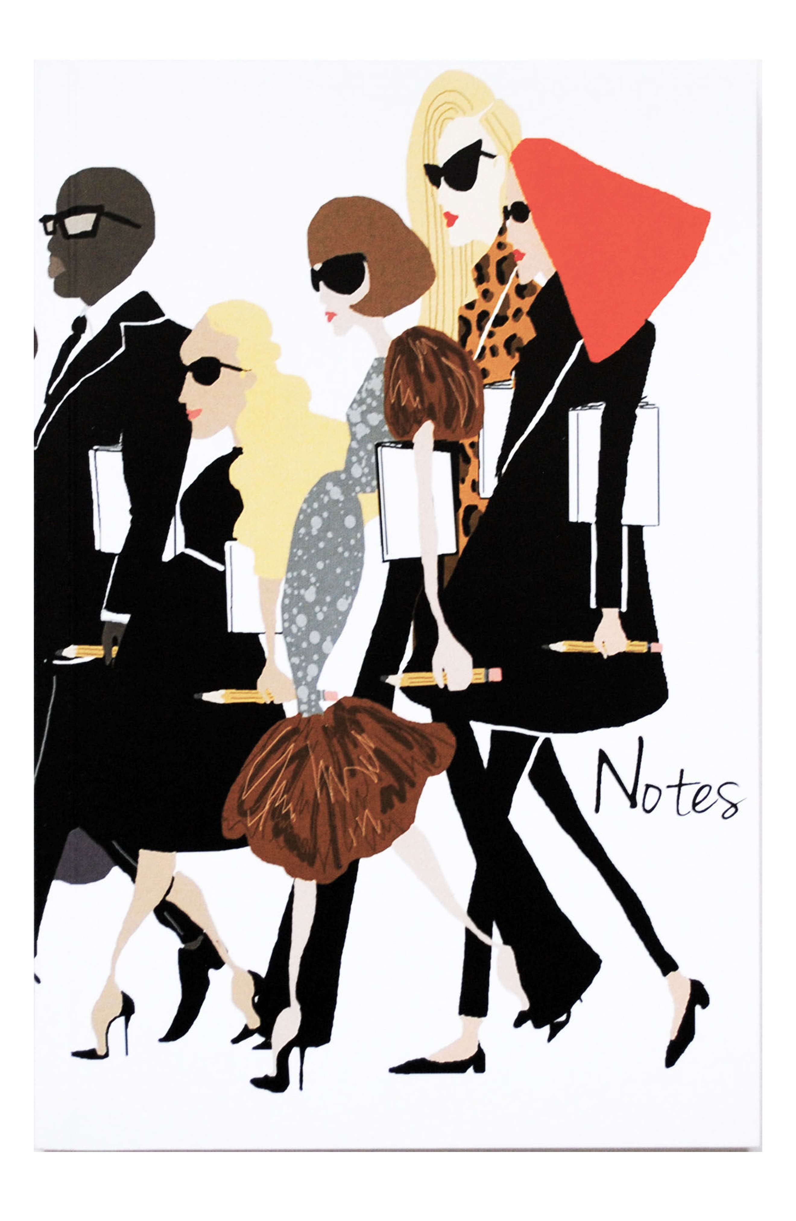 Fashion Notes Journal,                         Main,                         color, 100