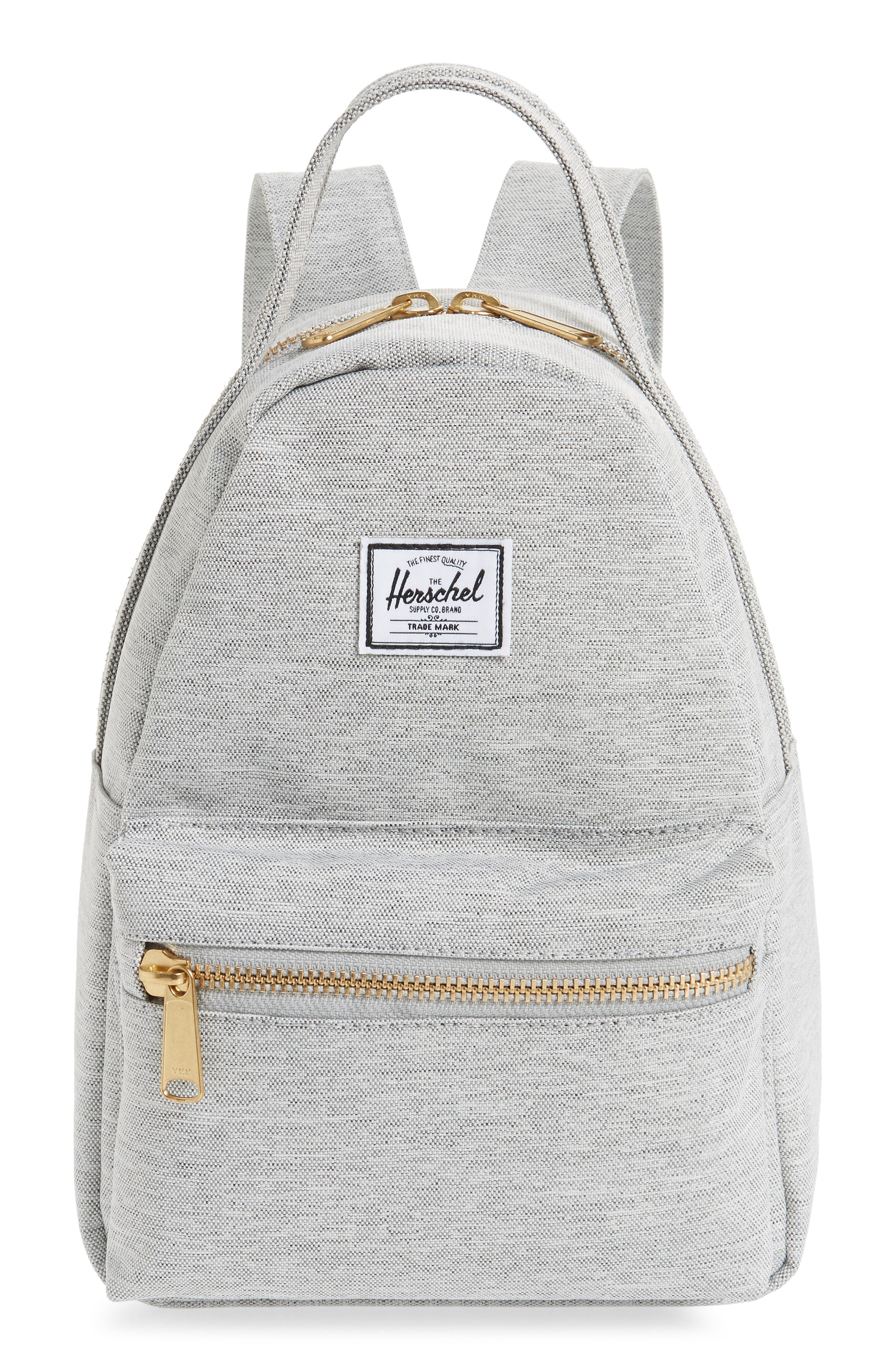 Mini Nova Backpack,                             Main thumbnail 1, color,                             LIGHT GREY CROSSHATCH