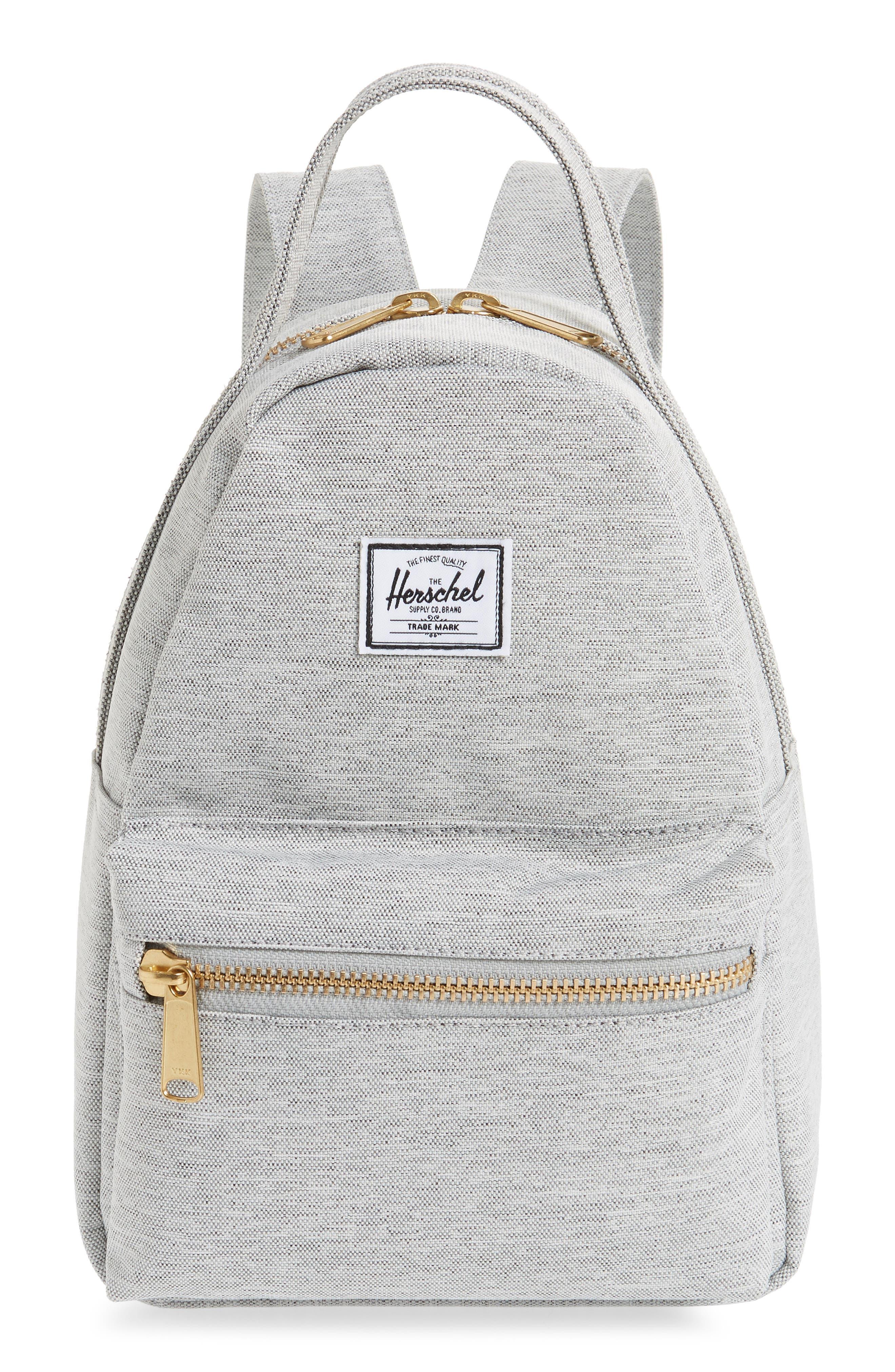Mini Nova Backpack,                         Main,                         color, LIGHT GREY CROSSHATCH