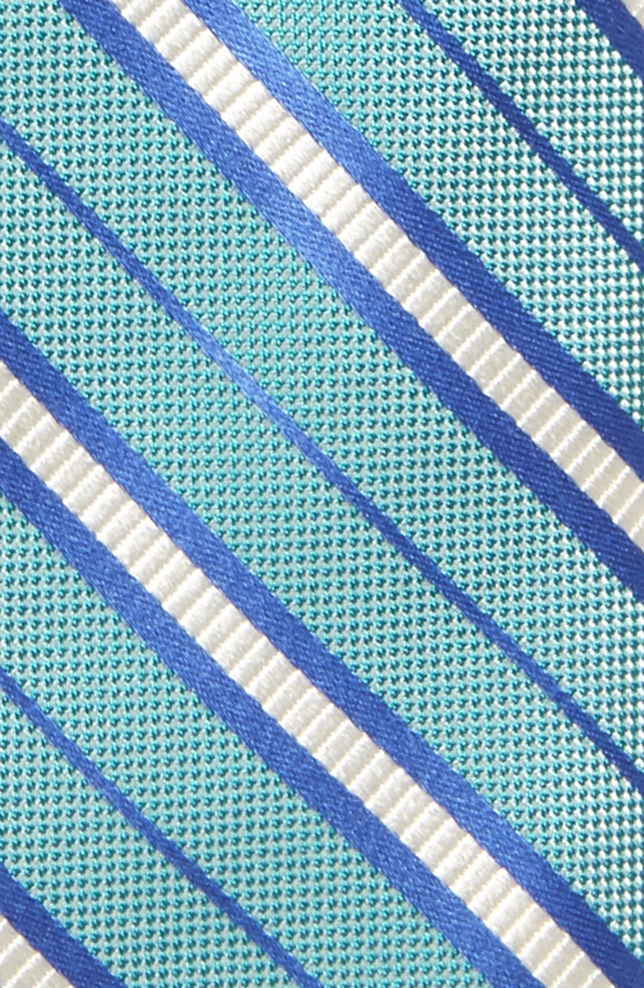 Candy Stripe Silk Tie,                             Alternate thumbnail 2, color,                             445