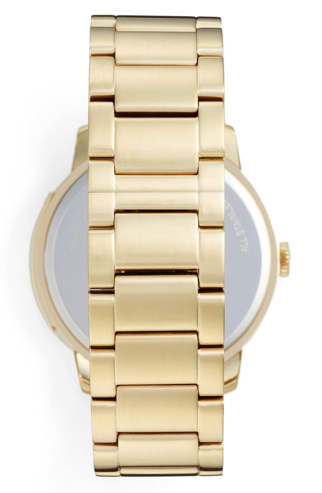'Bleeker' Round Bracelet Watch, 46mm,                             Alternate thumbnail 11, color,