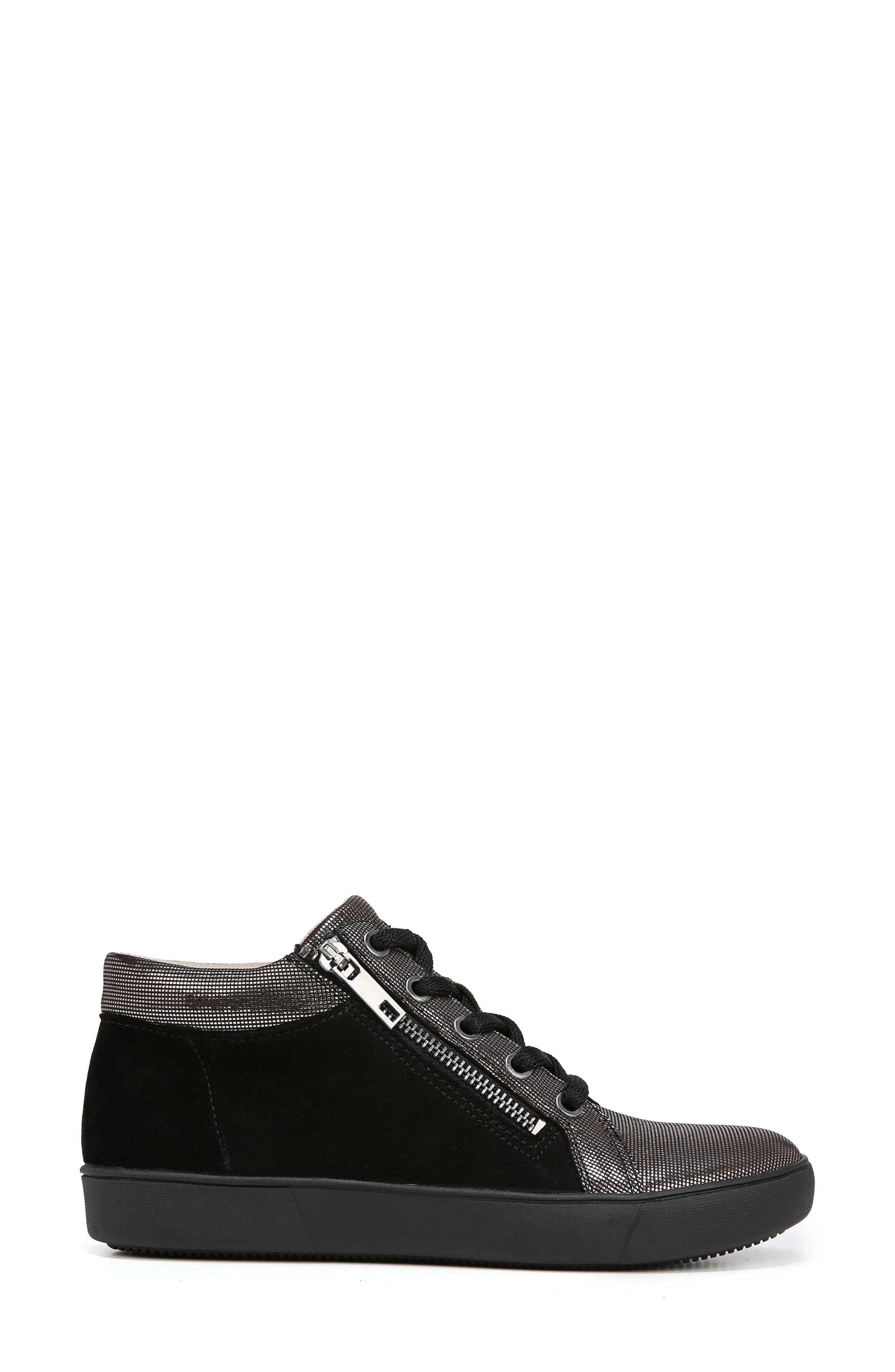 Motley Sneaker,                             Alternate thumbnail 3, color,                             PEWTER SUEDE