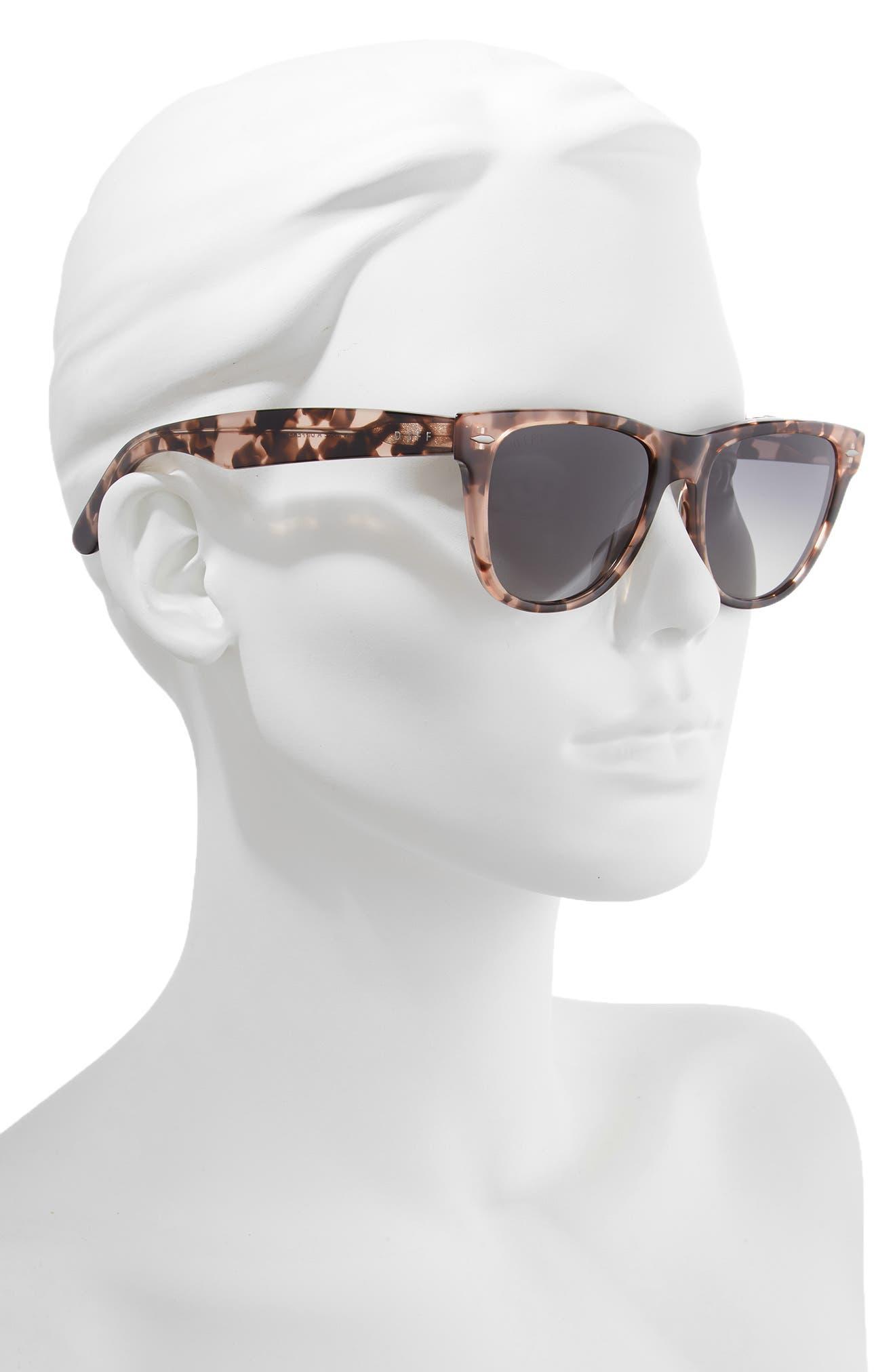 Kota 51mm Gradient Polarized Cat Eye Sunglasses,                             Alternate thumbnail 2, color,                             HIMALYAN/ GREY